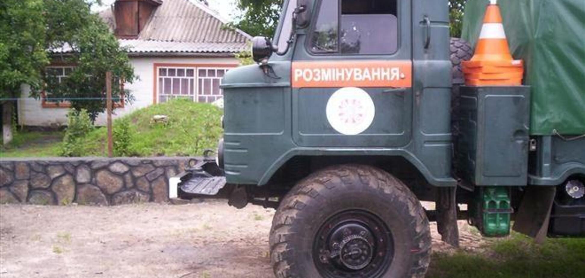 Во Львове артснаряд нашли в девятиэтажке