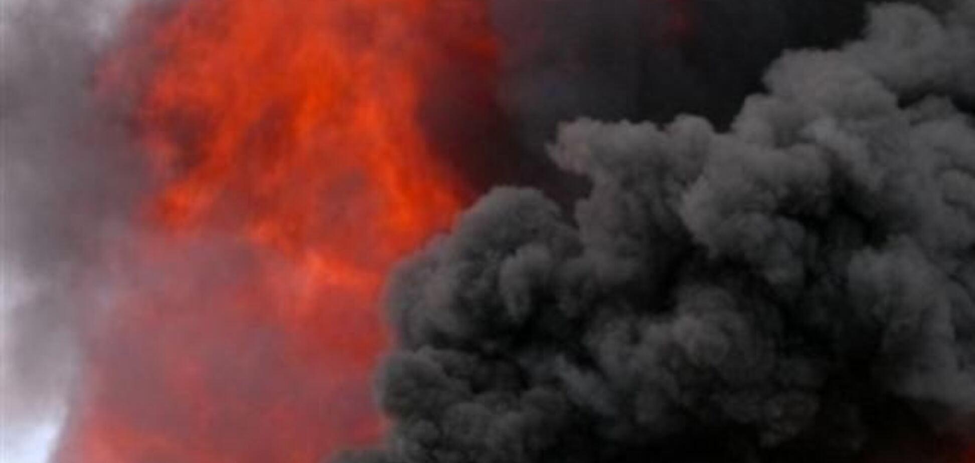 На Киевщине в гараже взорвался мужчина
