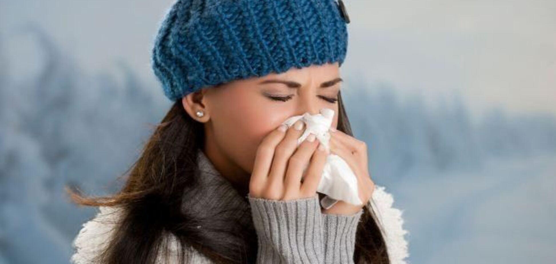 В Украине ожидается три штамма гриппа