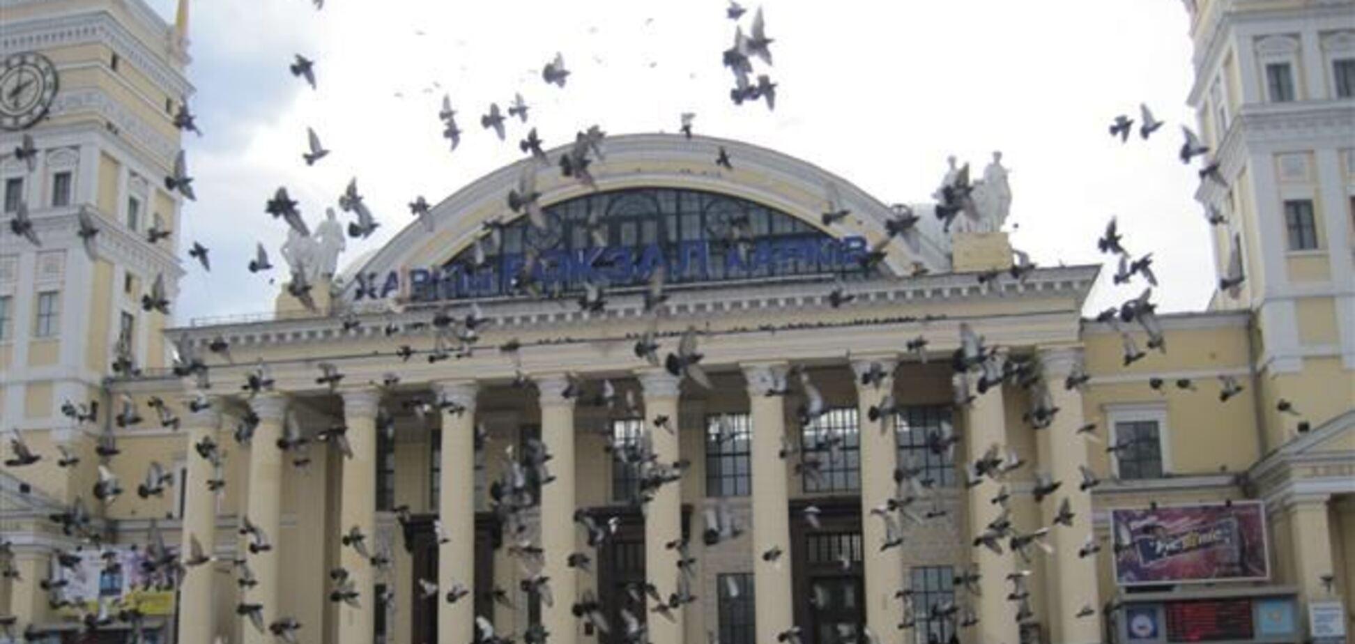 Почти 2 тысячи человек эвакуировали с вокзала Харькова из-за угрозы минирования