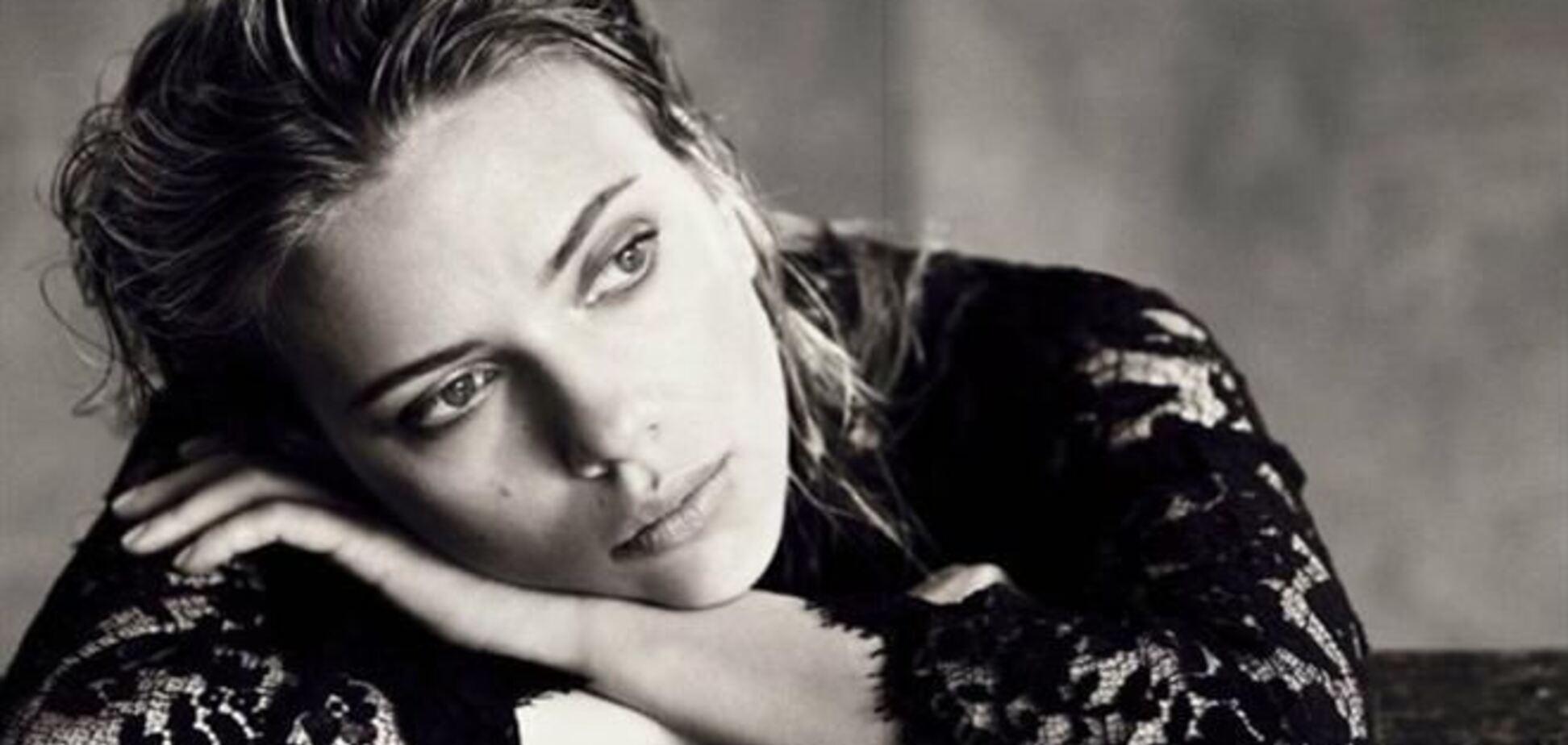 Скарлетт Йоханссон хандрит для Vogue Italy
