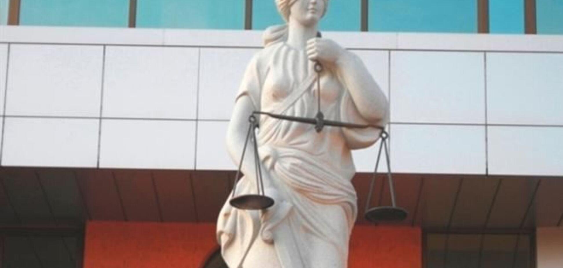 День юриста в донецком суде закончился пожаром