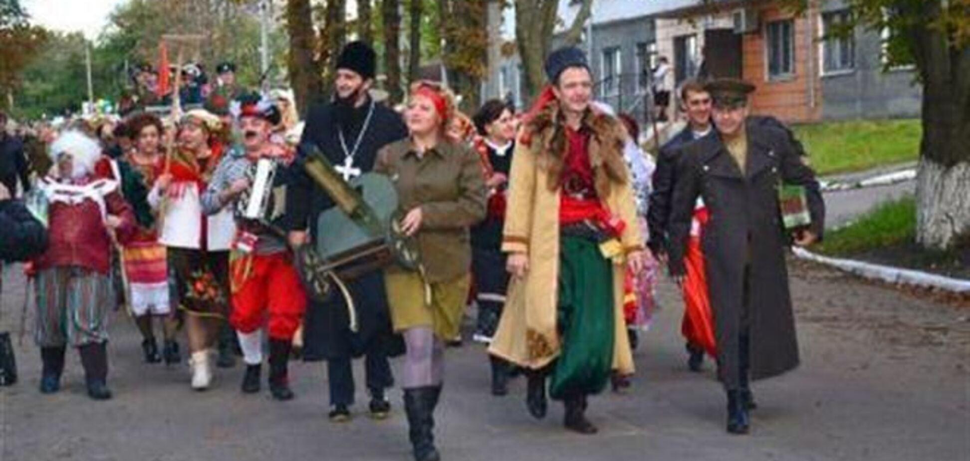 На карнавале на Полтавщине победа досталась тюремщикам