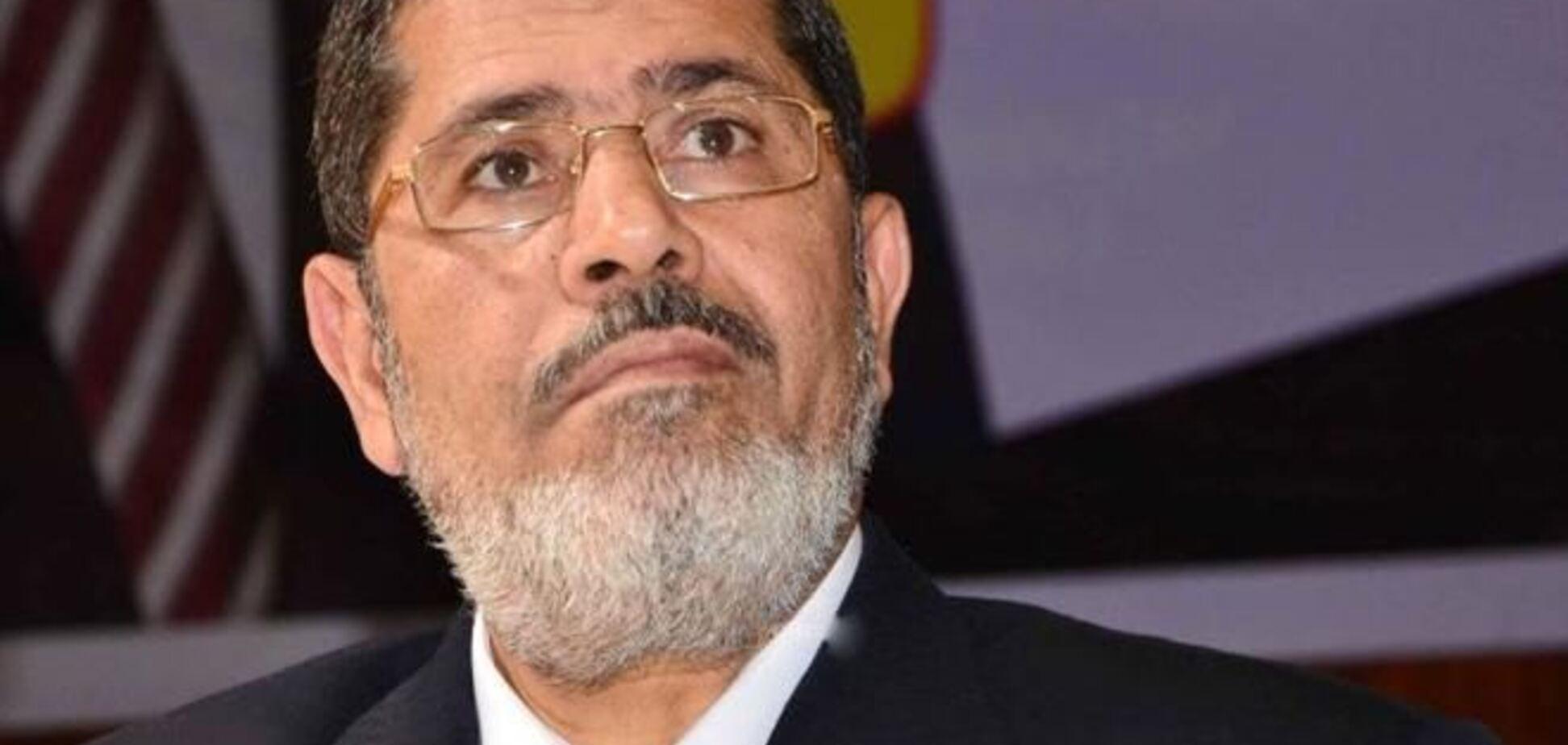 Суд над свергнутым президентом Египта Мурси начнется 4 ноября
