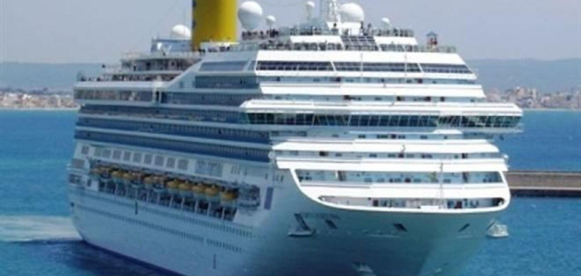 Завтра в порт Ялты зайдет круизный лайнер 'Costa Deliziosa'