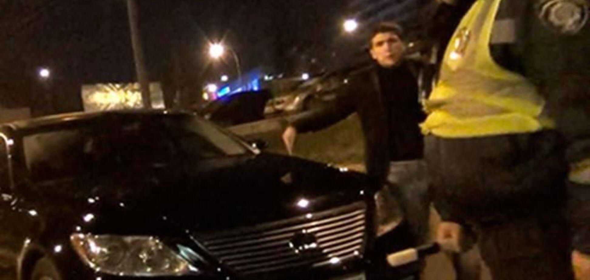 'Дорожный контроль' задержал пьяного водителя сына посла Израиля