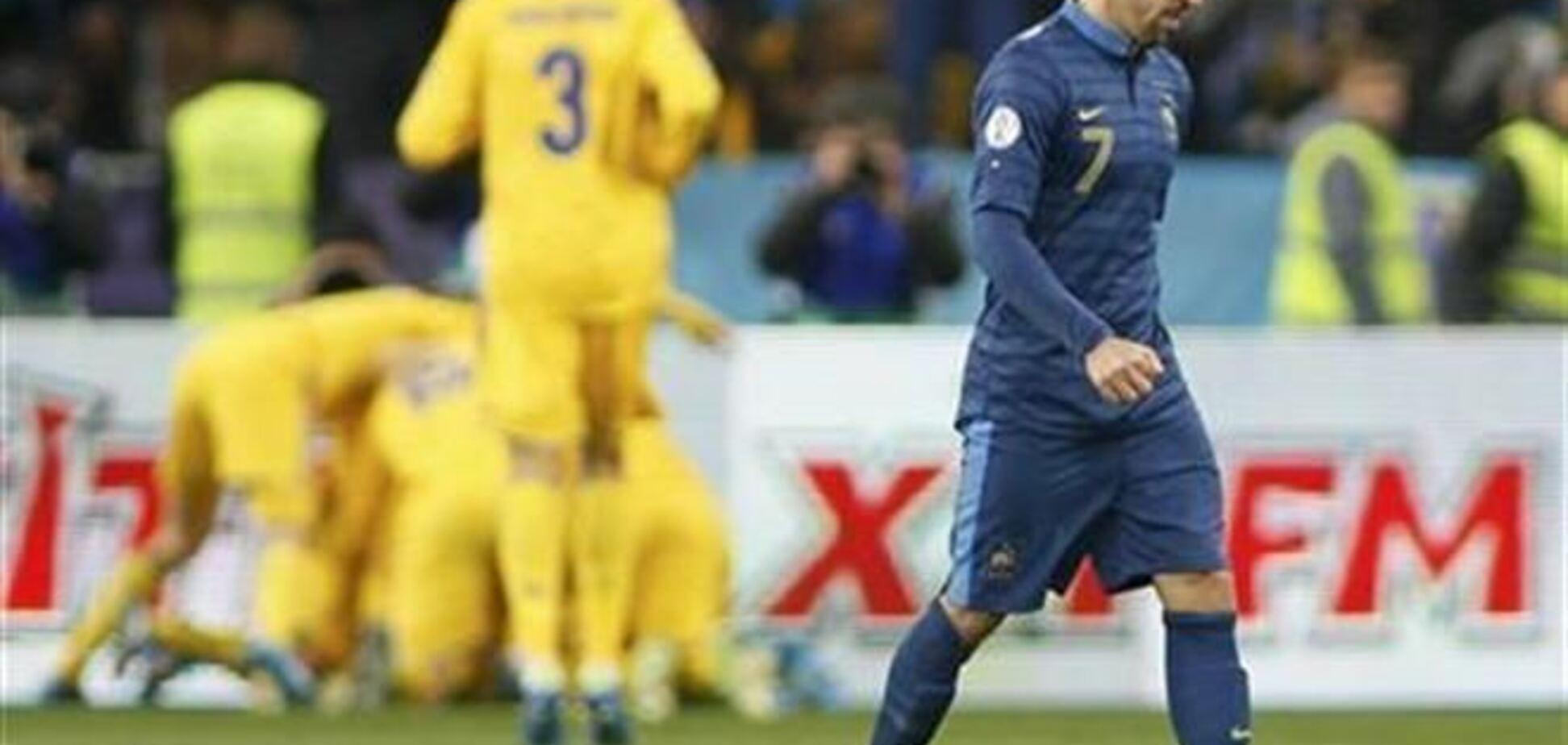 Мы в нокауте. Французские СМИ о поражении от сборной Украины