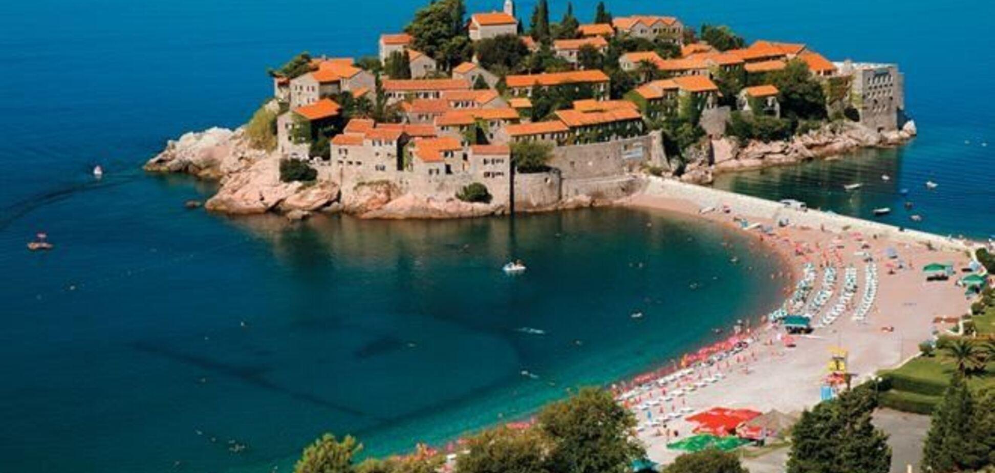 На черногорском курорте Свети-Стефан началось строительство туркомплекса