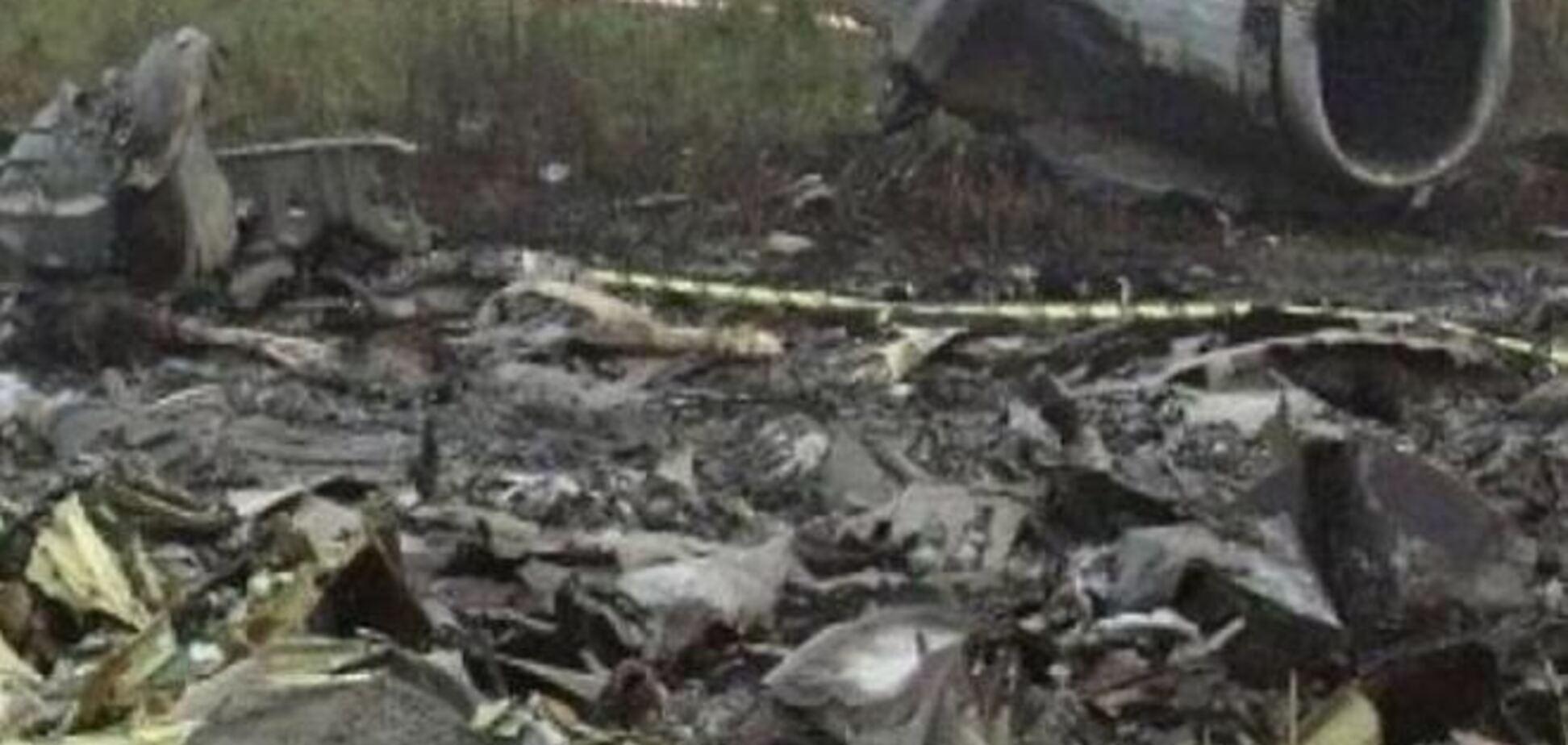 Янукович пособолезновал Путину из-за авиакатастрофы в Казани