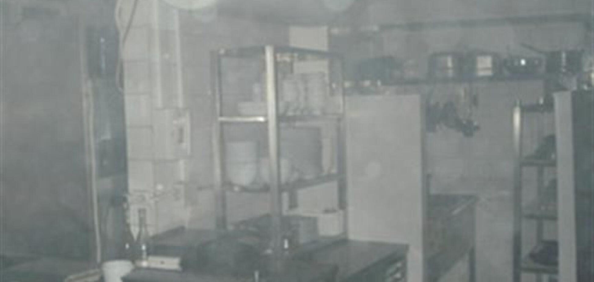 В киевской пятиэтажке горел ресторан