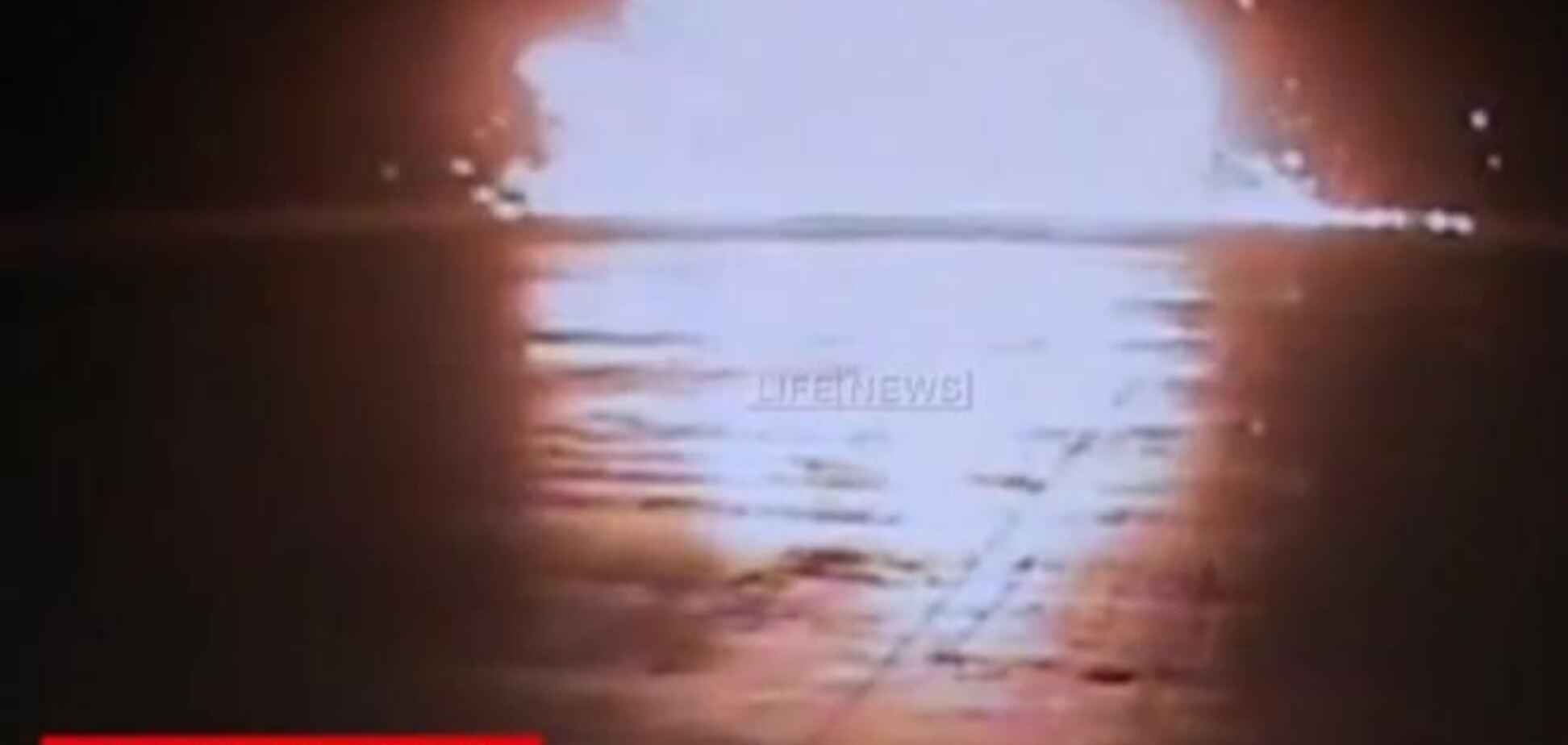 Опубликовано видео крушения 'Боинга' в Казани