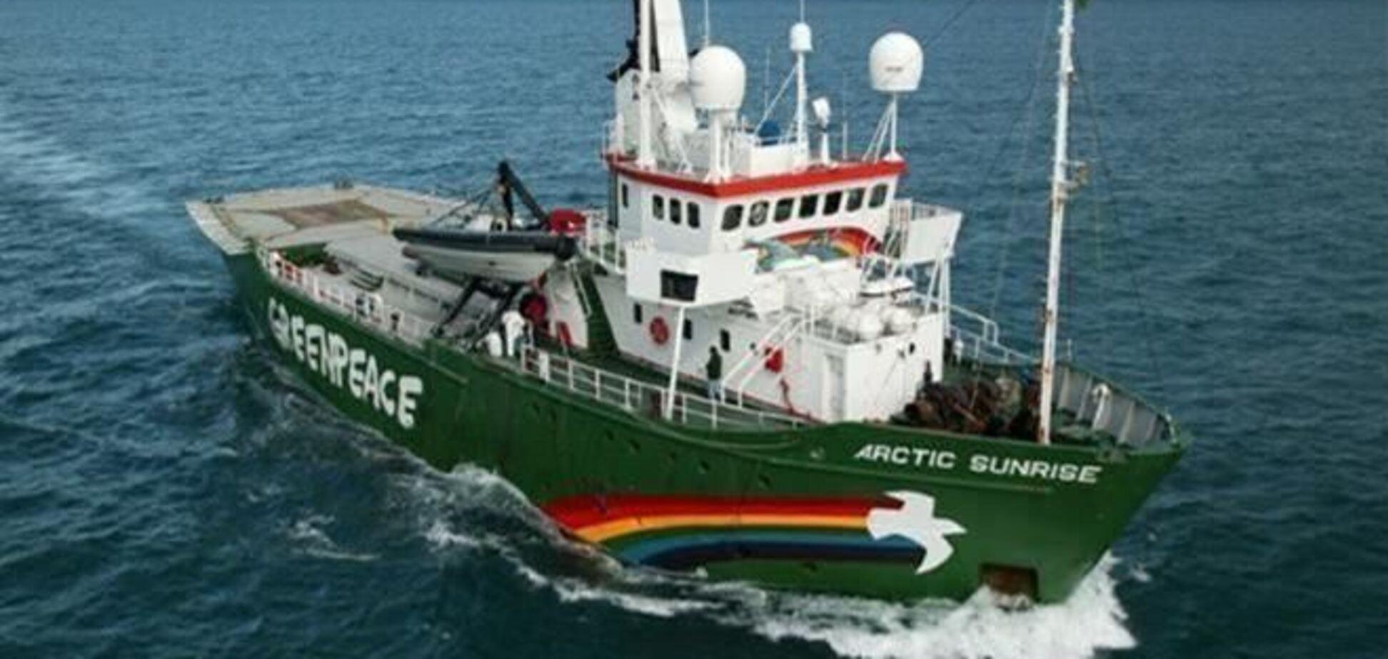 Суд звільнив першого з іноземних членів екіпажу Arctic Sunrise