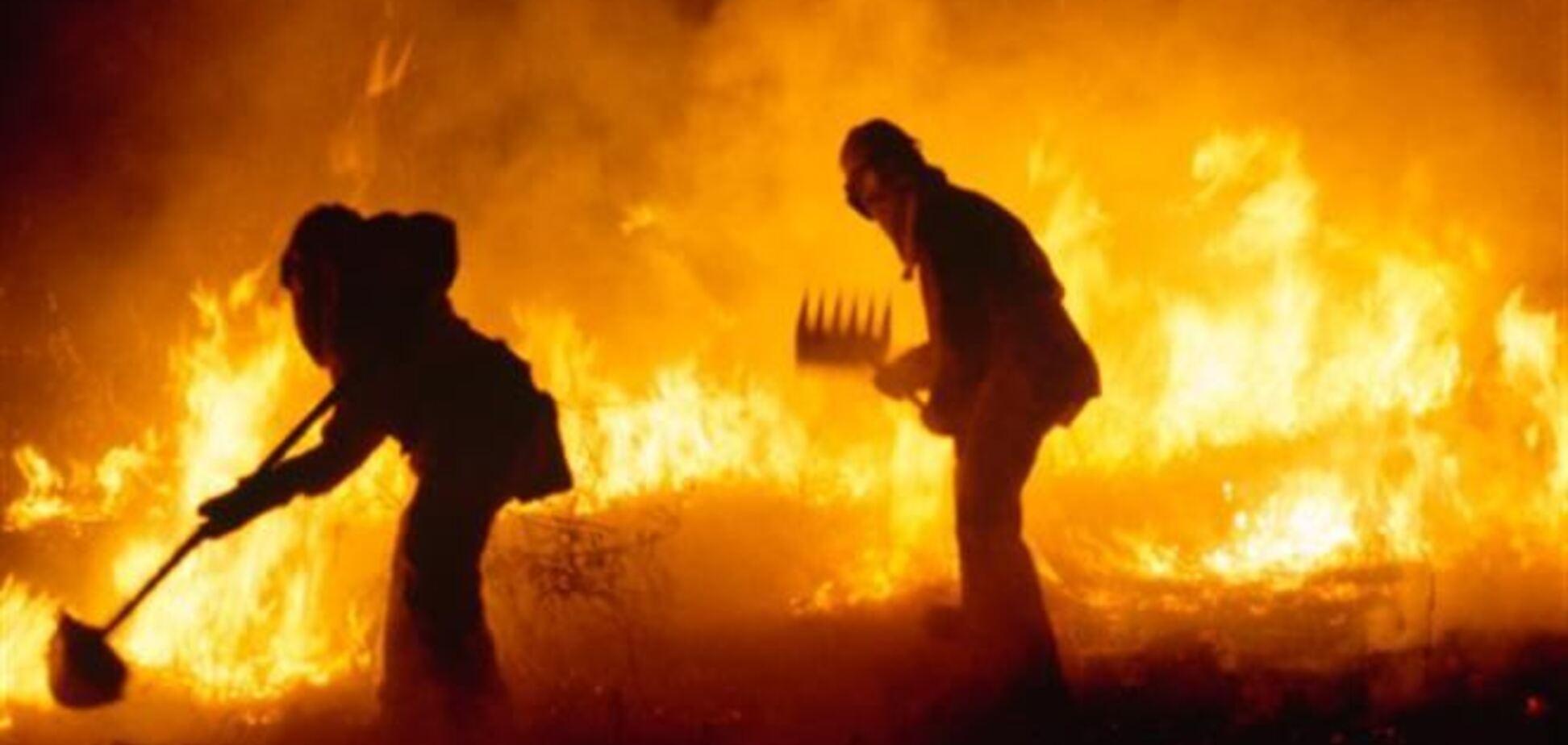 За прошедшие сутки в Украине произошло 153 пожара