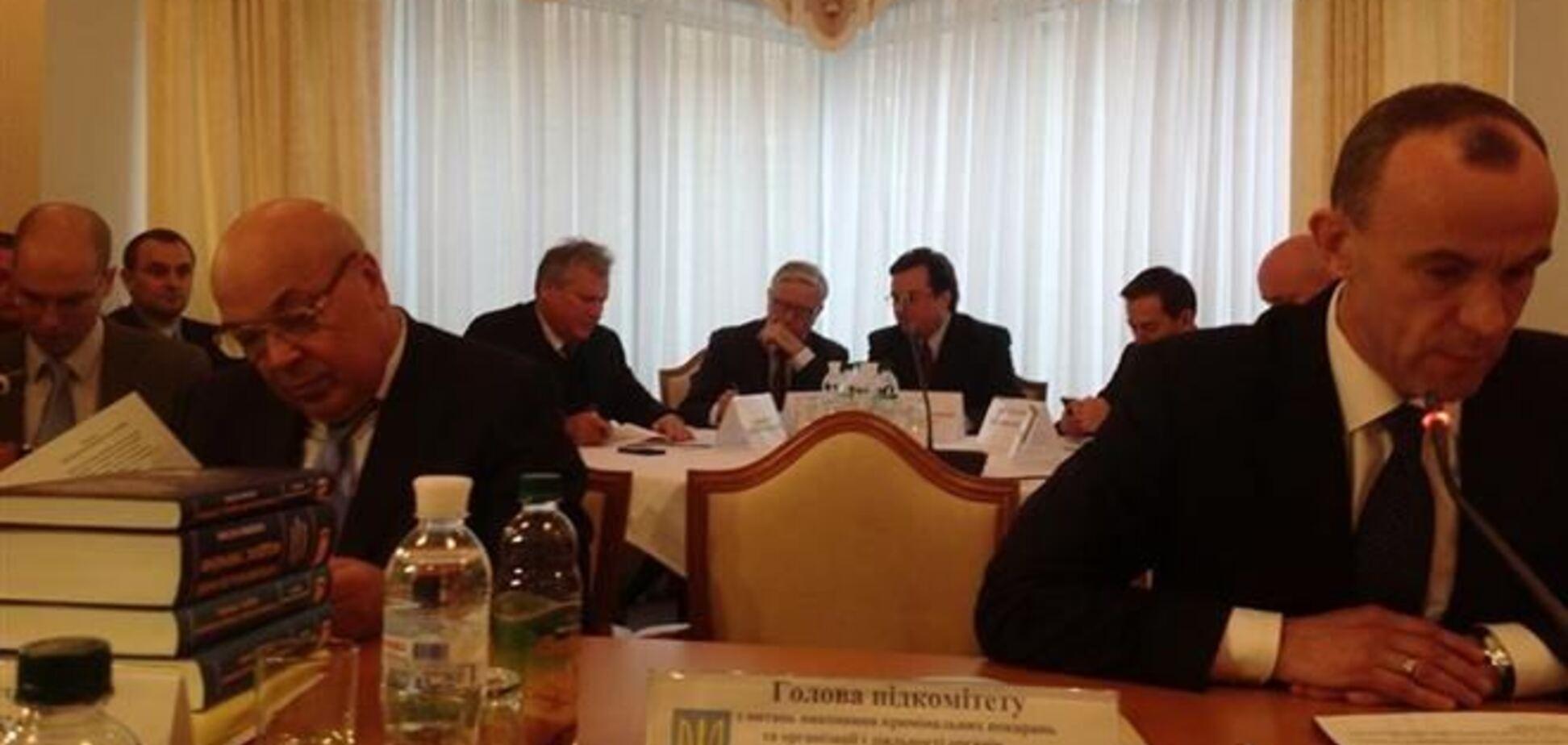 Рабочую группу по 'проектам Тимошенко' посетили Кокс и Квасьневский