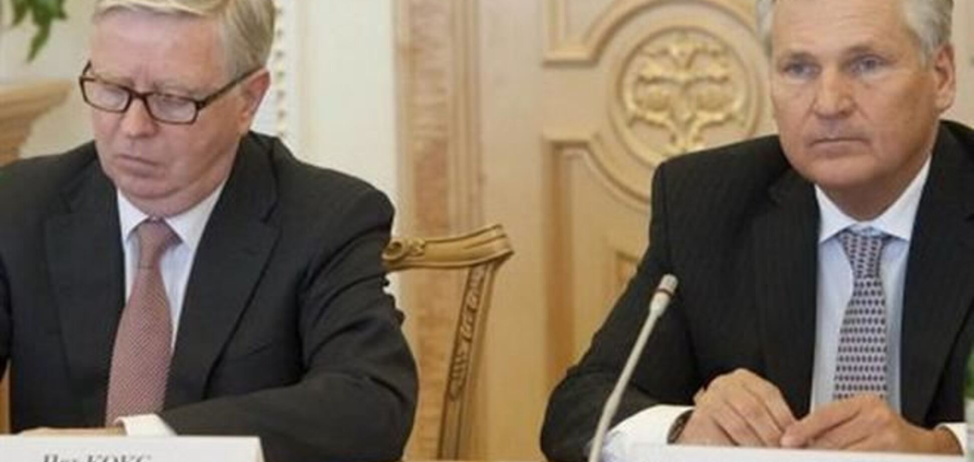 Кокс и Квасьневский перенесли свой визит к Тимошенко