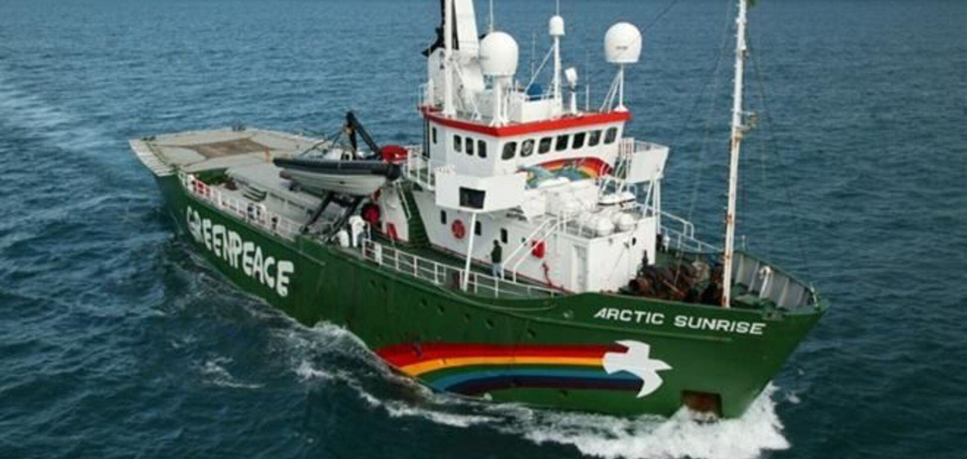 Міжнародний морський трибунал зажадав звільнити Arctic Sunrise