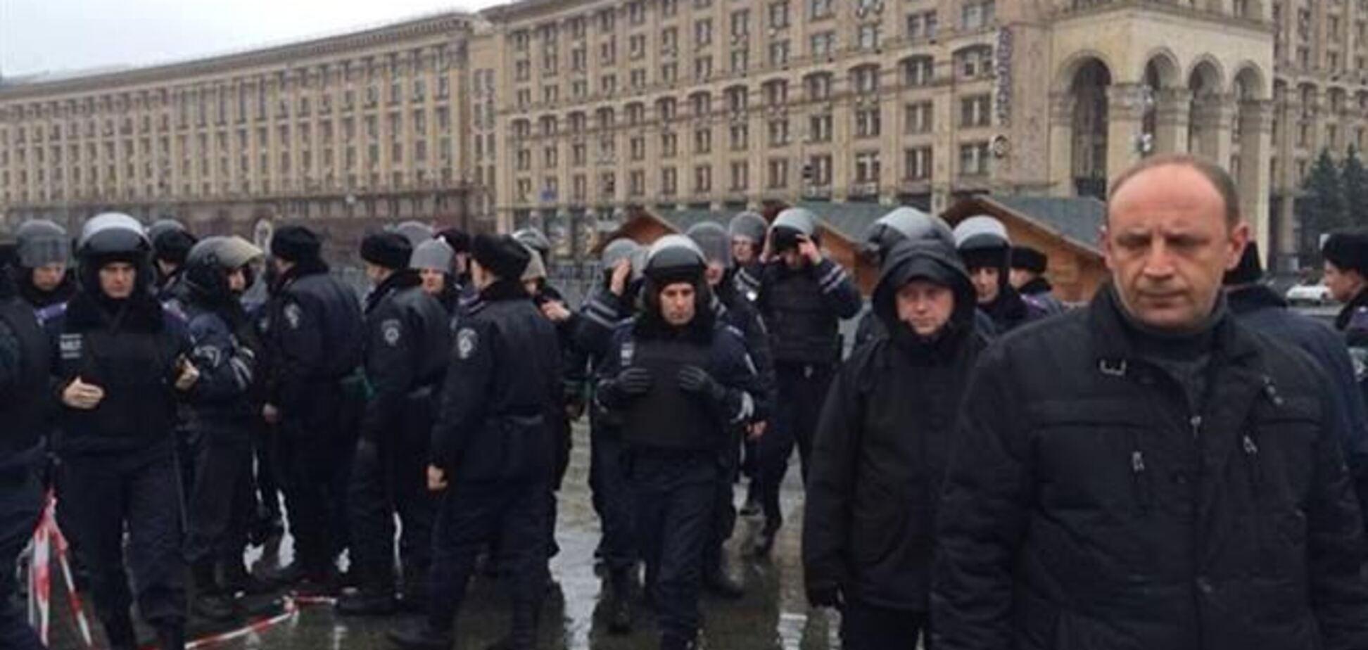 На Майдан подтянулся 'Беркут'