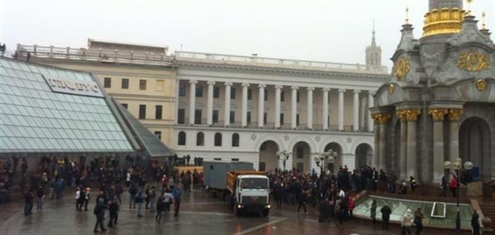 Черниговским автоперевозчикам запретили везти людей в Киев 24 ноября