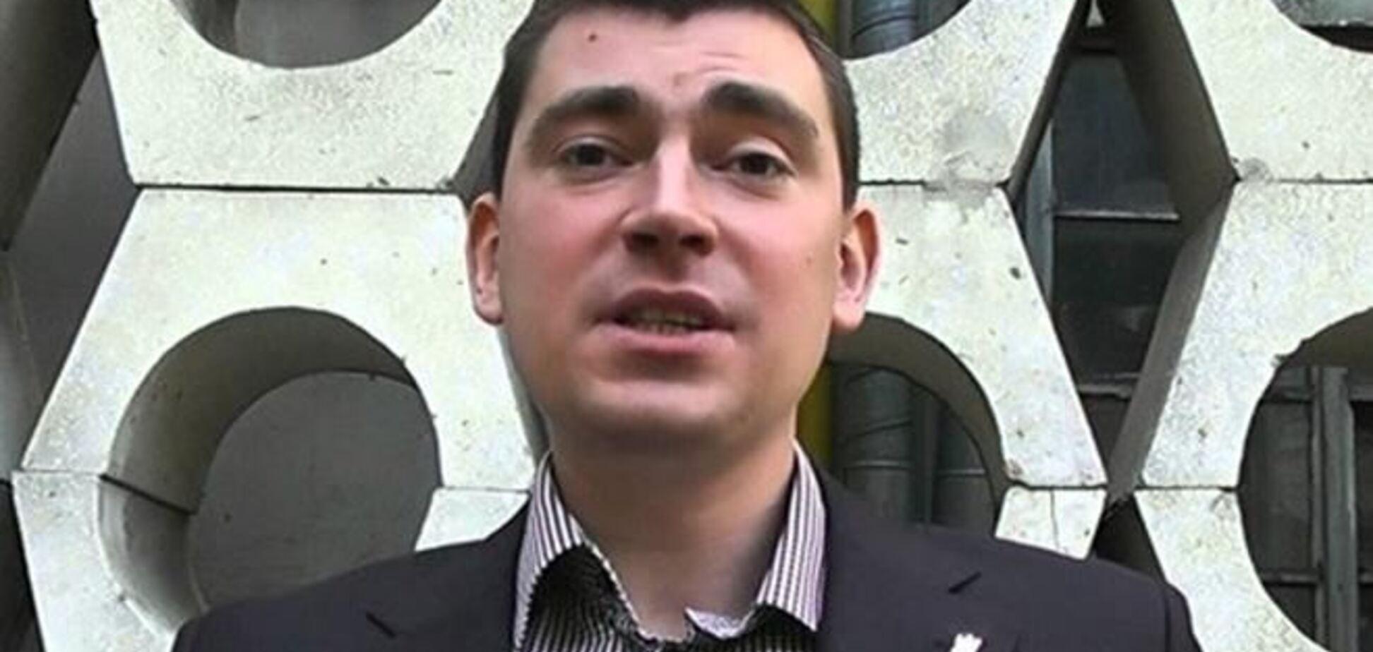 Михальчишин обозвал митингующих во Львове 'сопляками'. Его освистали