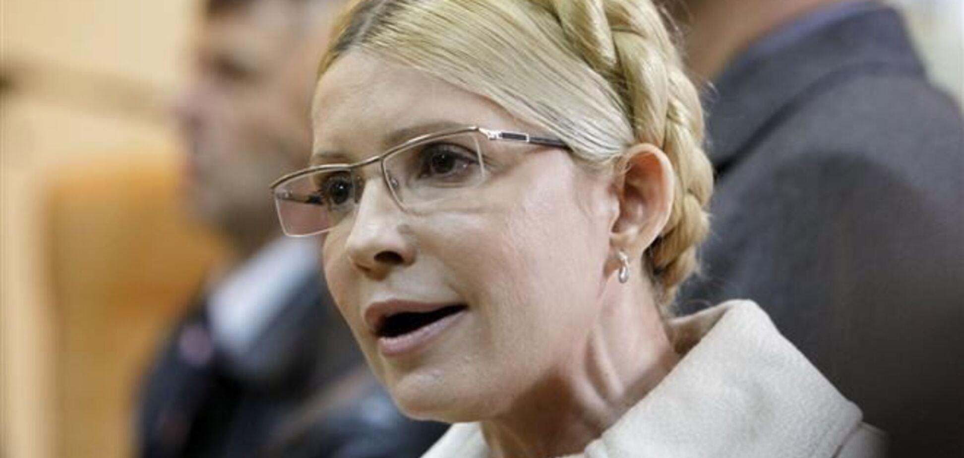 Тимошенко объявила голодовку