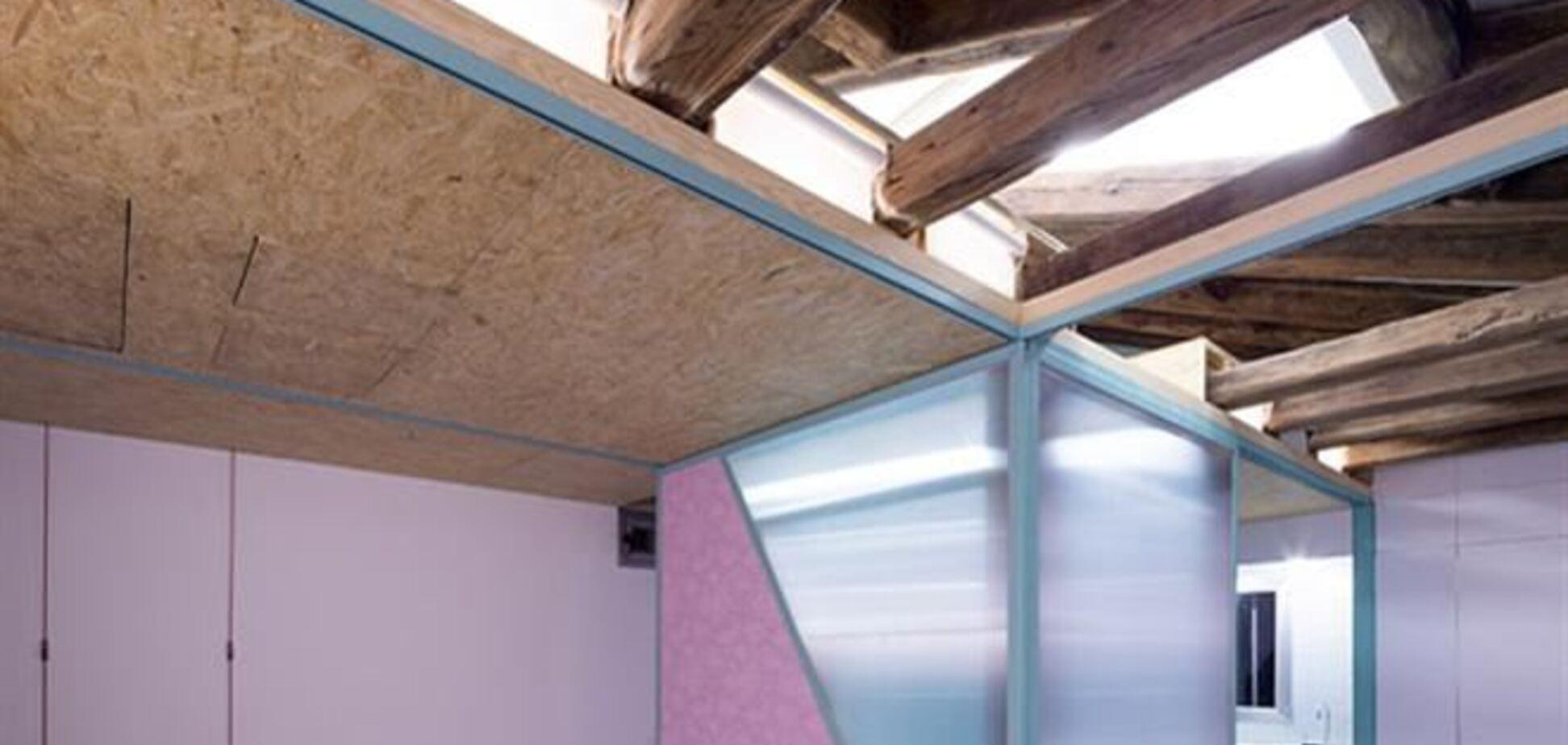 Архитекторы из Мадрида спроектировали мансарду-конструктор
