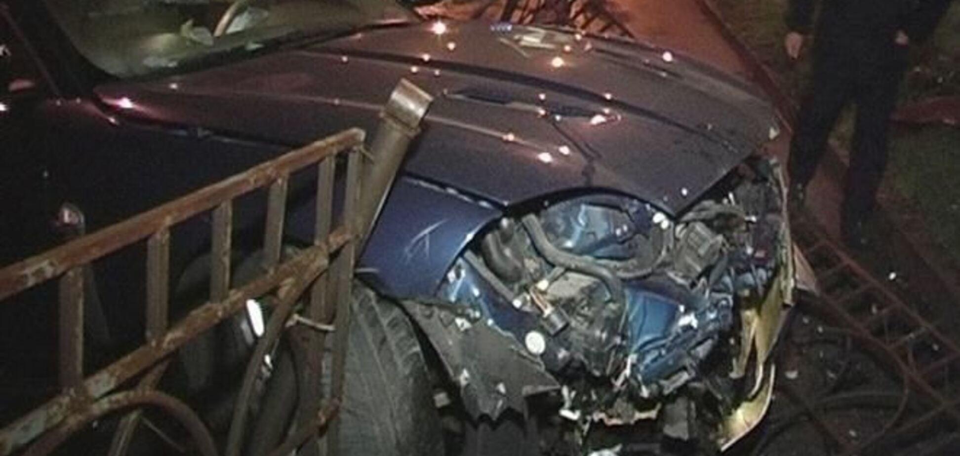 В Киеве разбился 'Ягуар'