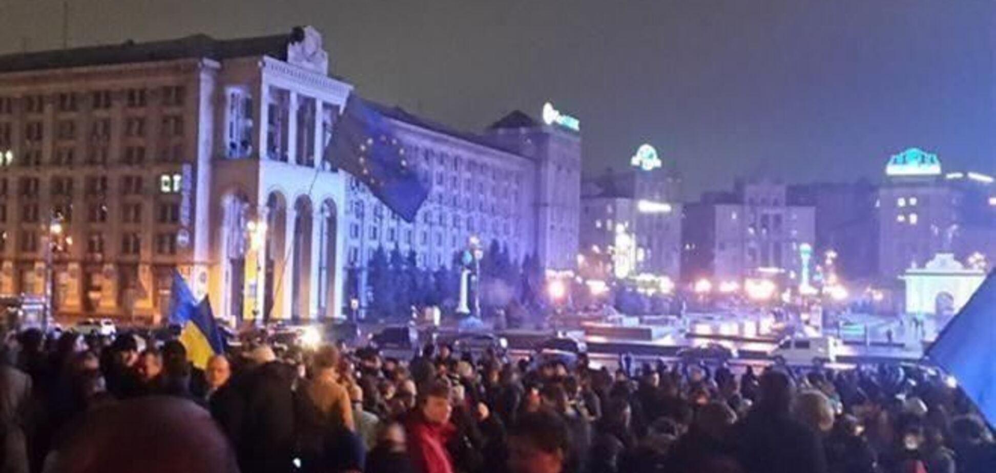Из-за Евромайдана в центре Киева подорожали уличные туалеты