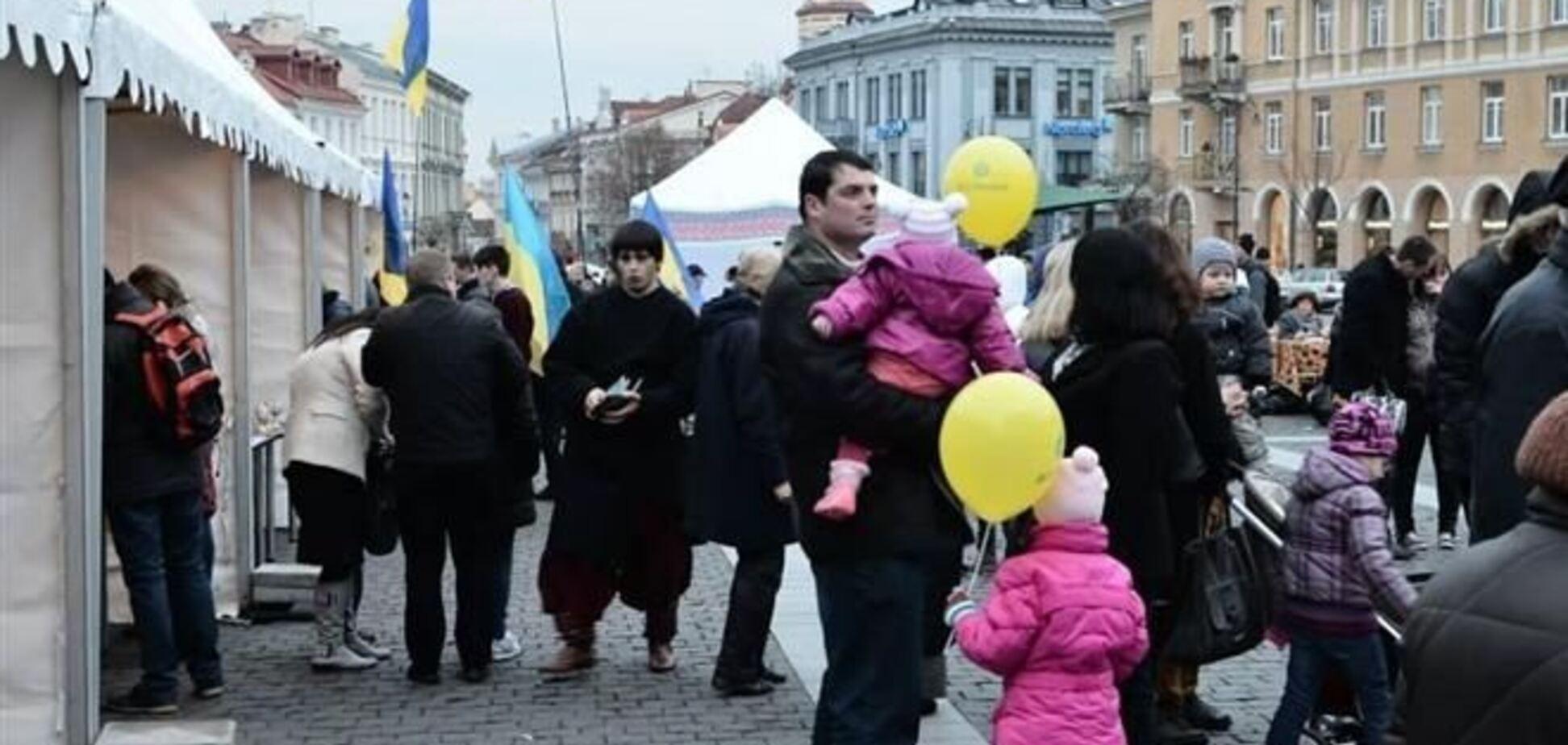 В Вильнюсе состоялся фестиваль 'Українське містечко'