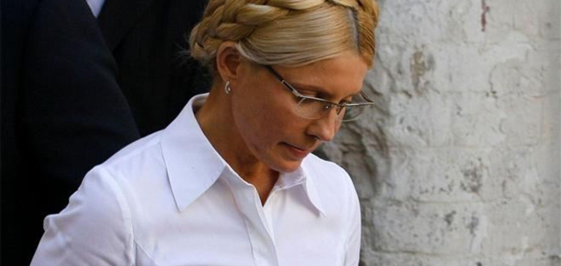 Тимошенко як виняток дозволили зустріч із захисниками