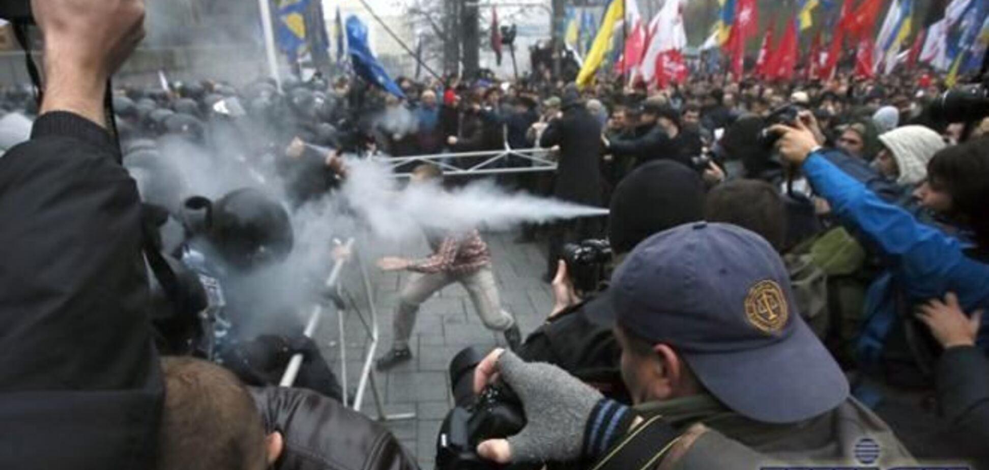 Оппозиционер обвинил 'Свободу' в провокациях на Евромайдане