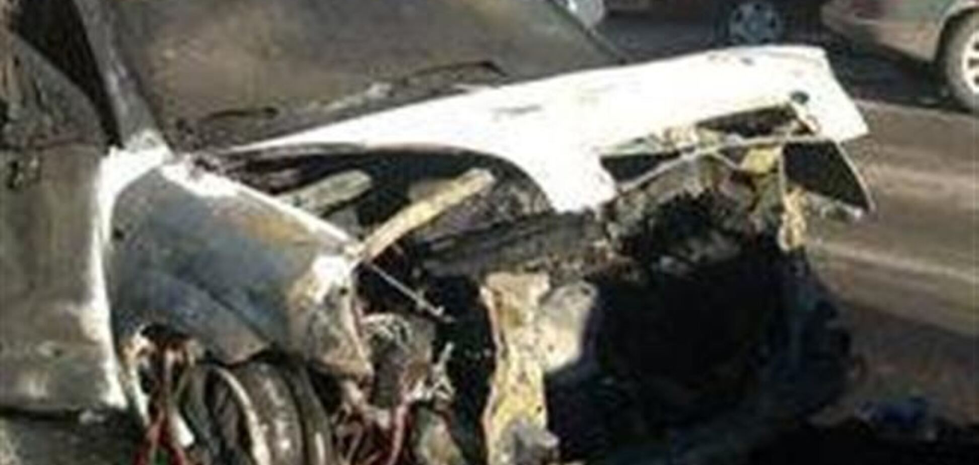 Одному из организаторов Евромайдана сожгли авто