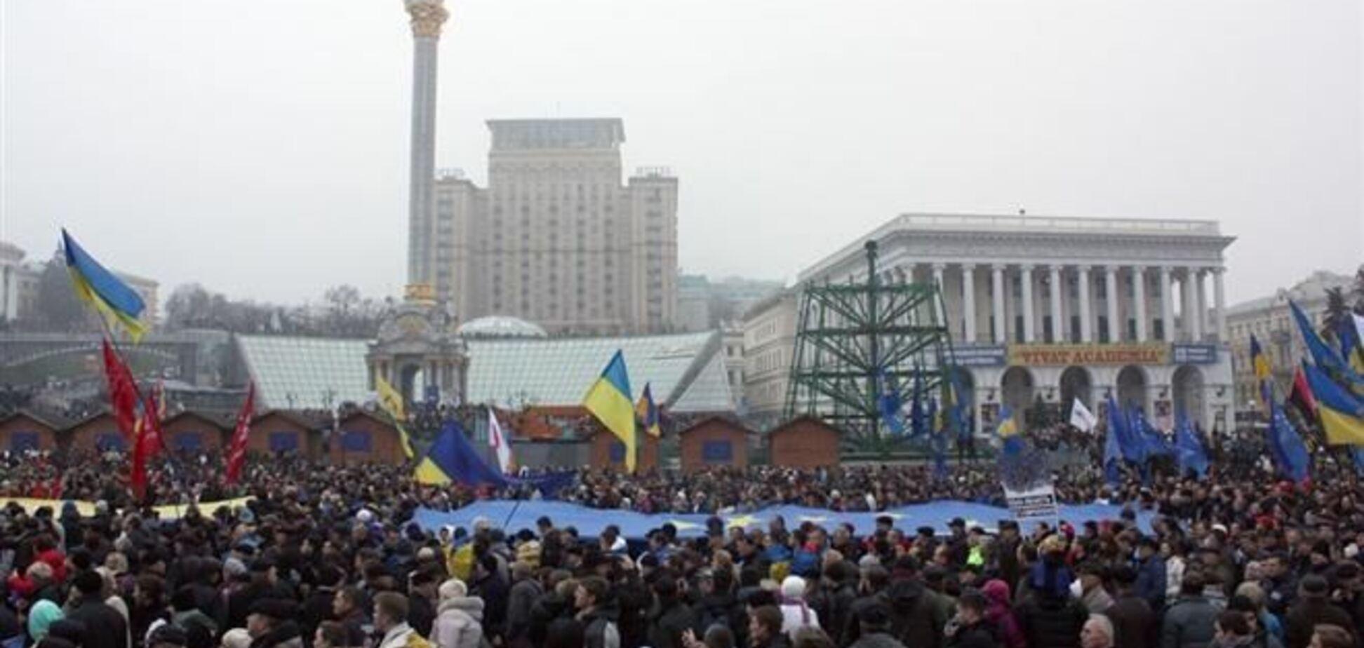 29 ноября на Евромайдан придут лидеры оппозиции