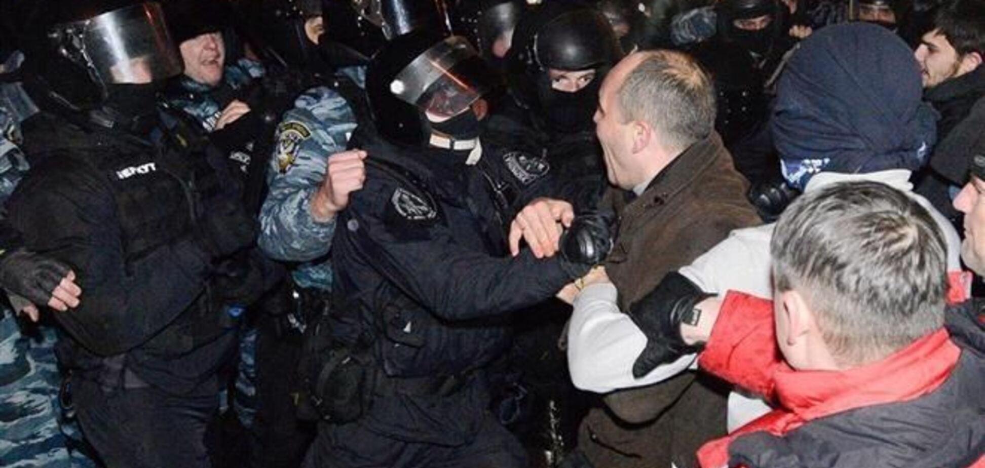 Народный депутат от 'Батьківщини' после драки с 'Беркутом' попал в больницу