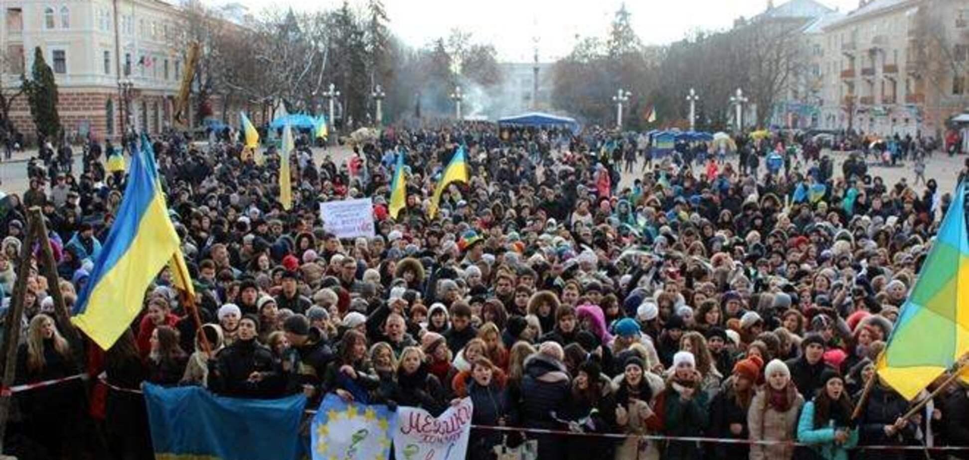Мэр Тернополя призвал ректоров выйти вместе со студентами на Евромайдан