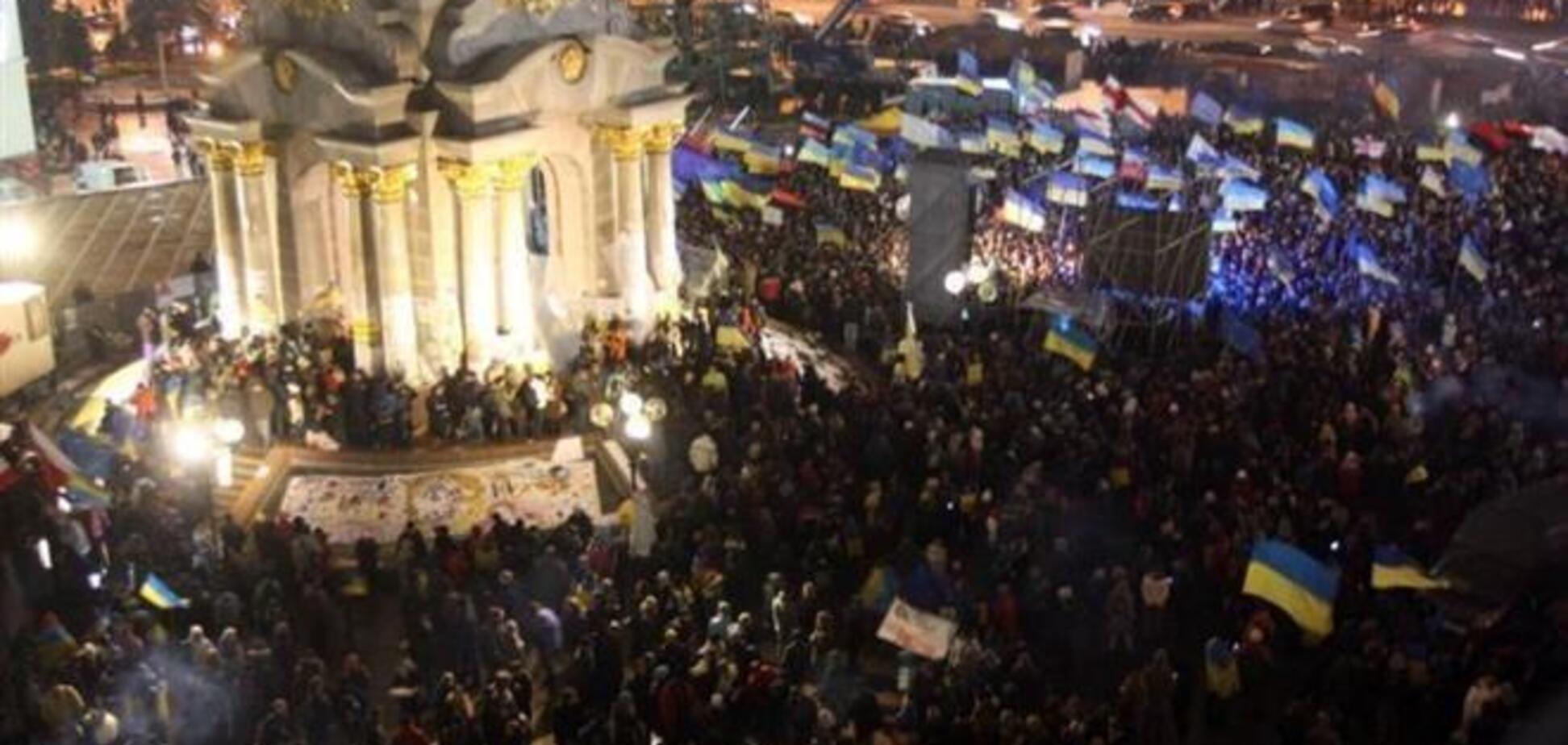 Финальную акцию Евромайдана проведут 1 декабря