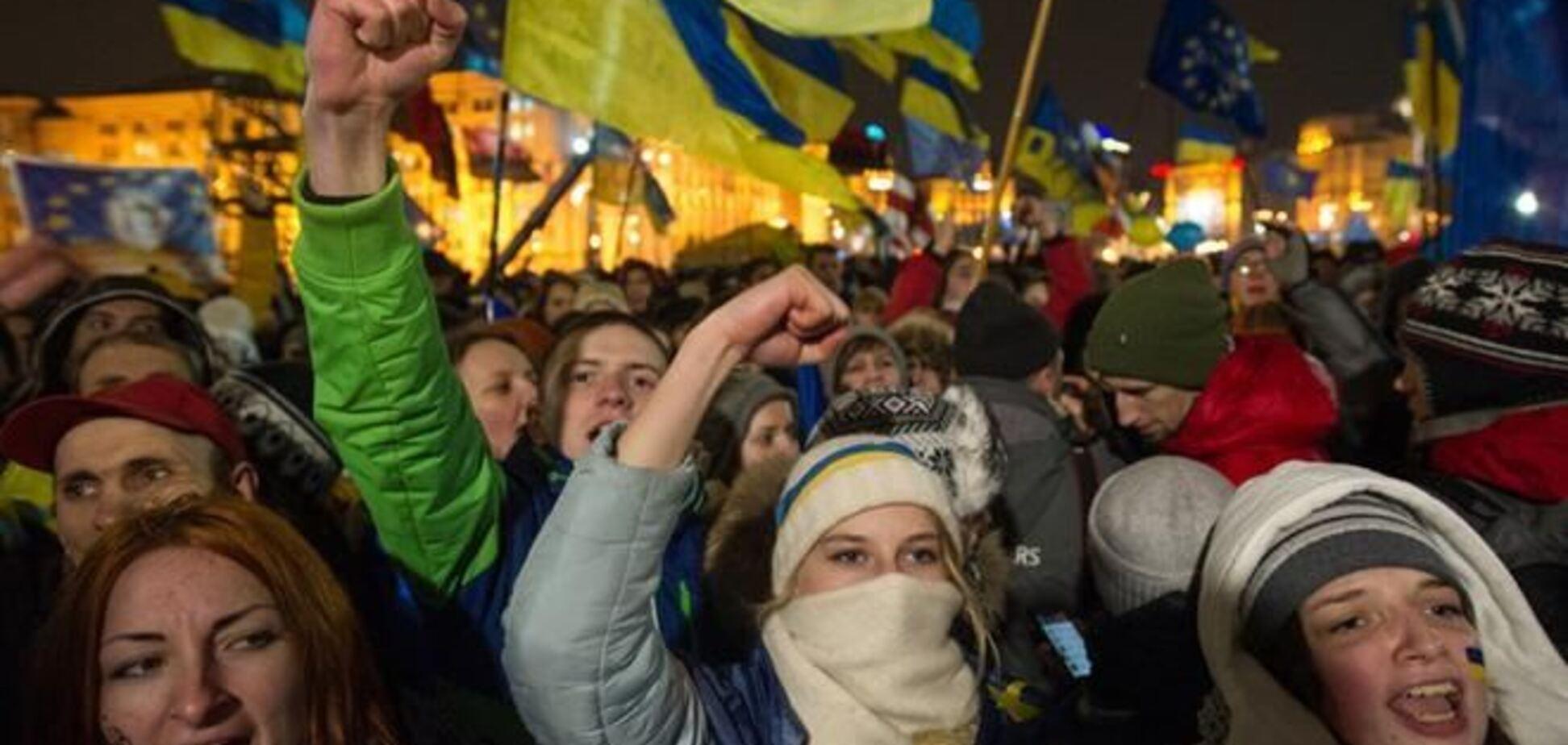 Активисты сегодня соединят Украину и Евросоюз живой цепью