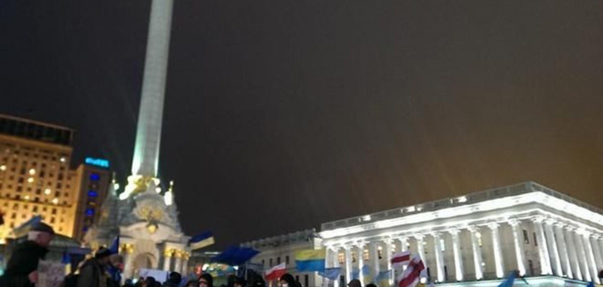 На Евромайдане организовали альтернативную сцену
