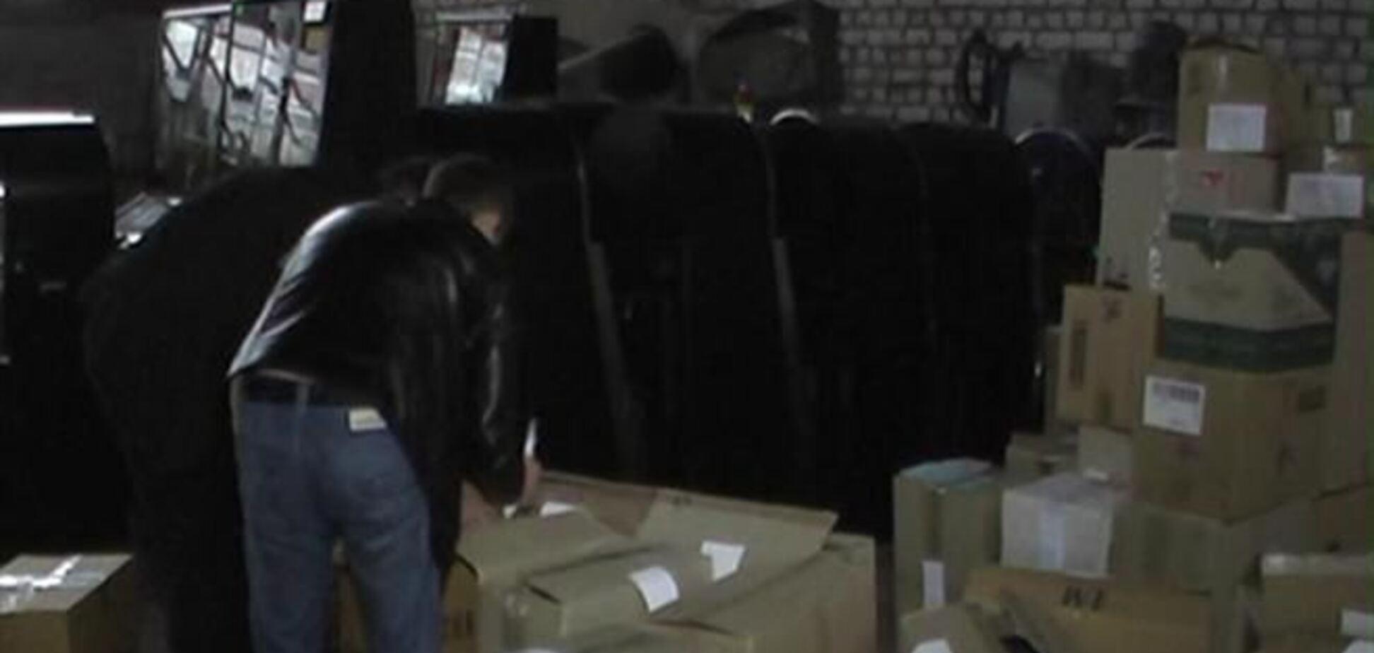 У Луганську були вилучені 72 тис. пачок фальшивих сигарет