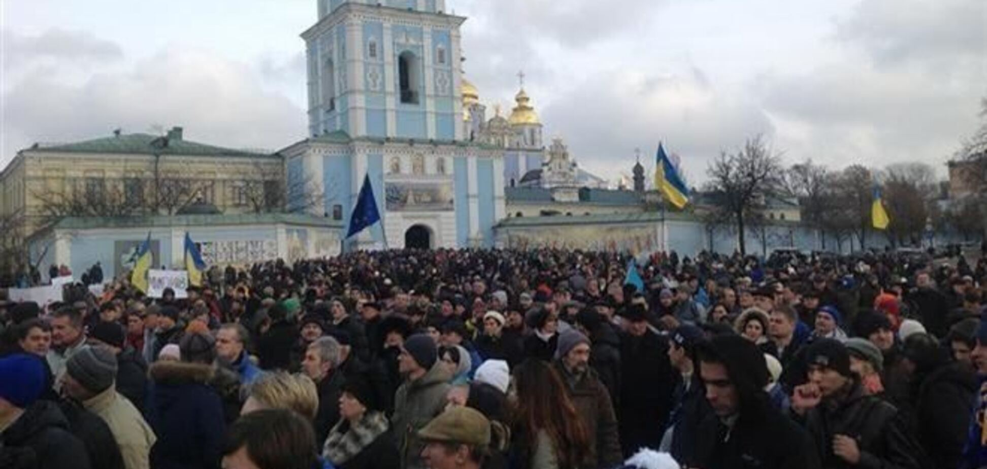 Евромайдан просит приюта у Патриарха Филарета