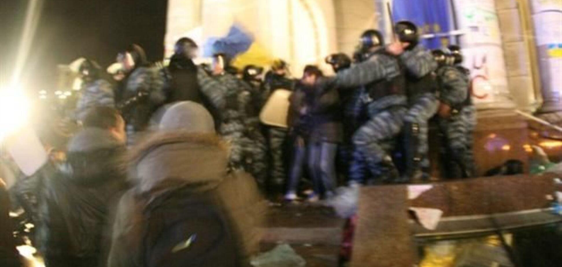 Задержанных евромайдановцев отпускают из милиции