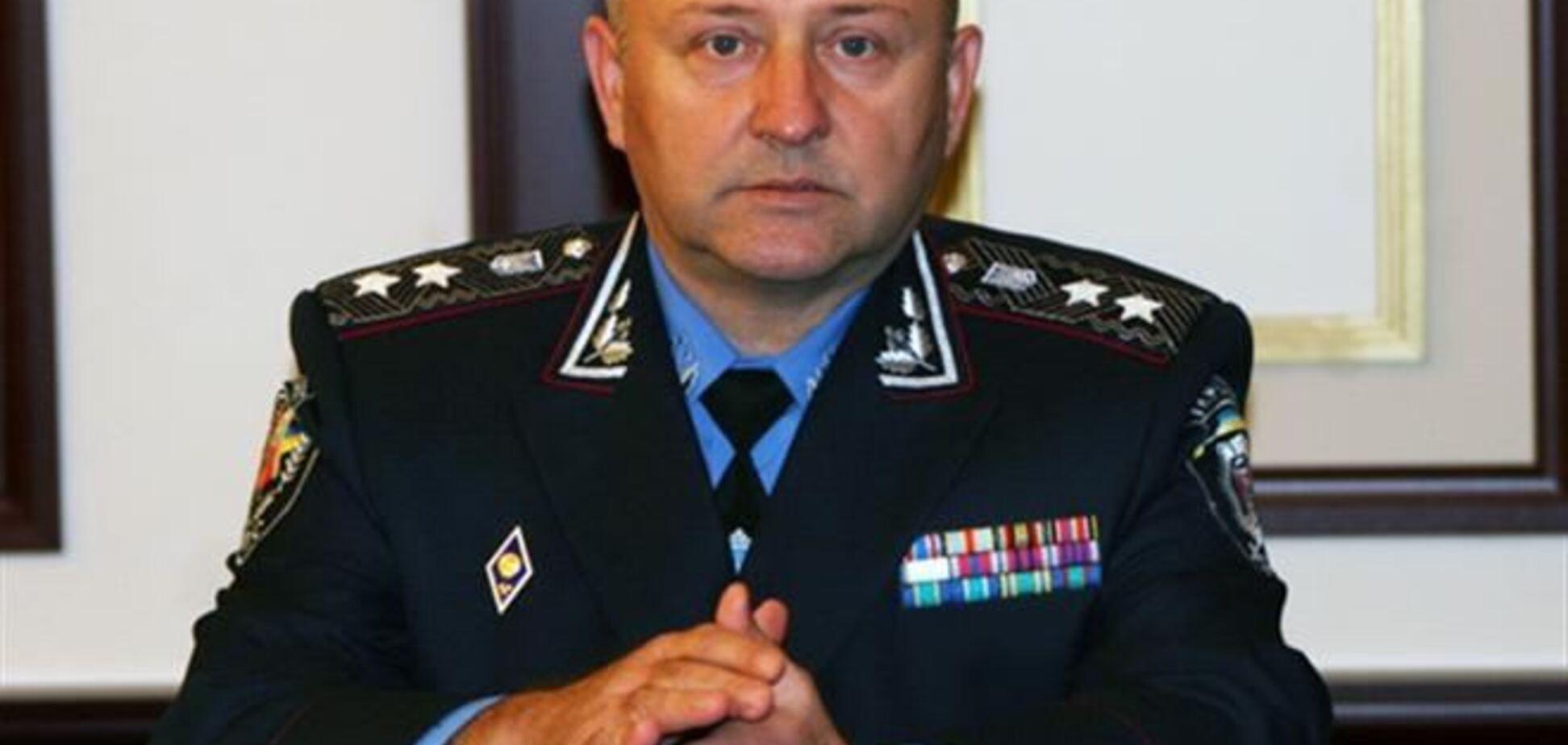 Начальник киевской милиции взял на себя ответственность за разгон Евромайдана