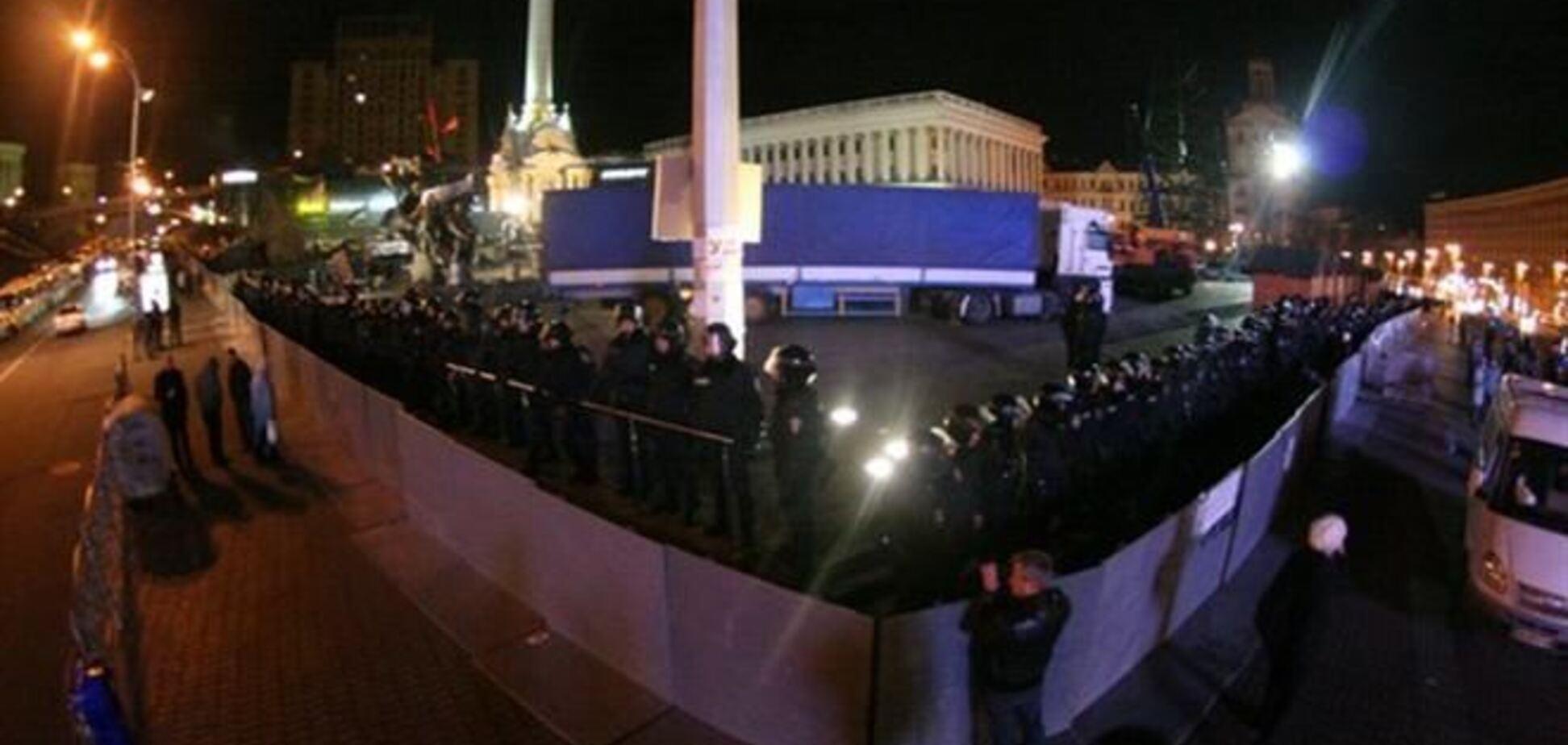 В ЕС выражают недовольство действиями 'Беркута' на Майдане