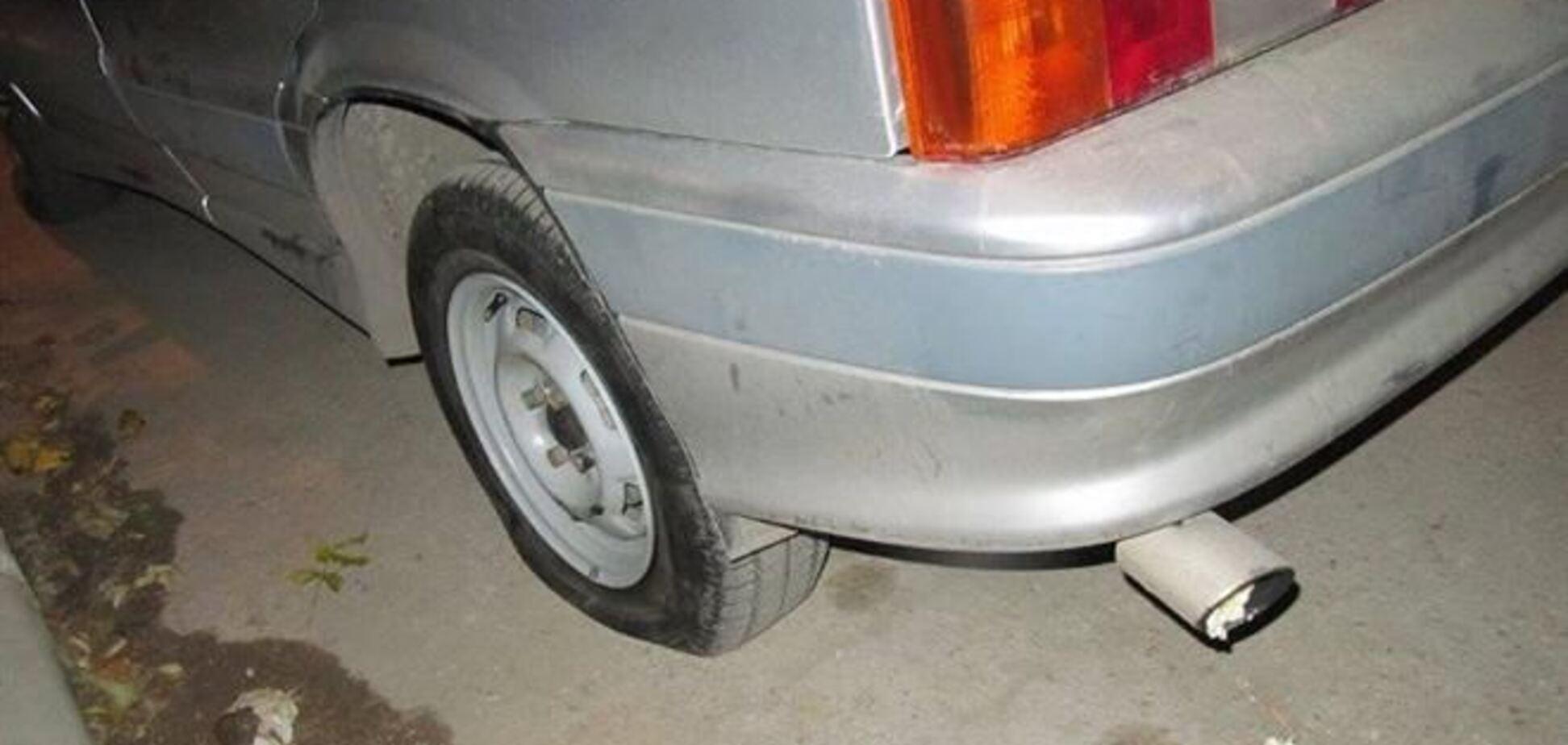 В Крыму изуродовали авто организатора Евромайдана