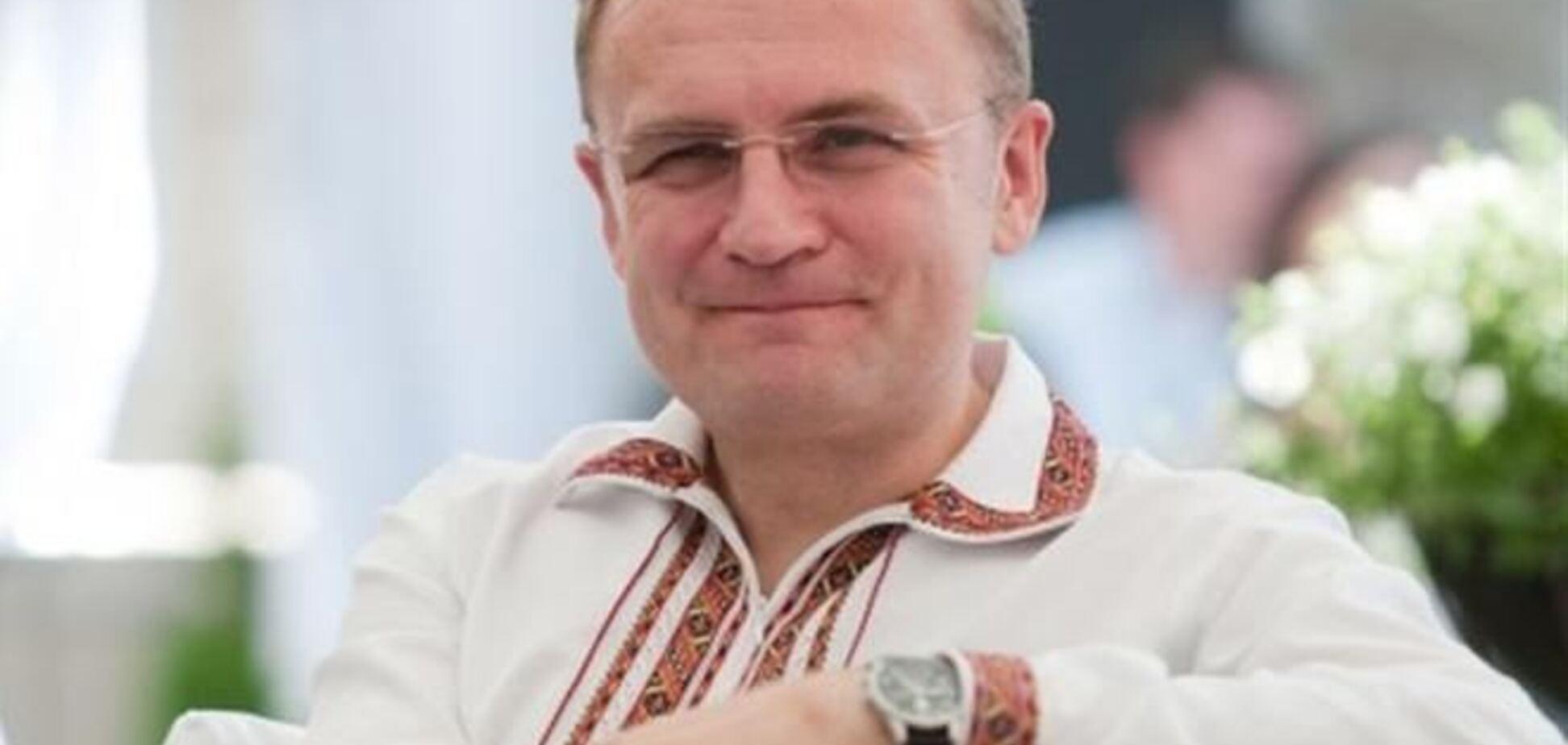 Защищать львовский Евромайдан будет весь город – мэр Львова