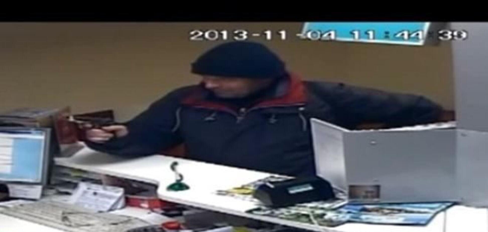 В Борисполе неизвестный с пистолетом ограбил банк