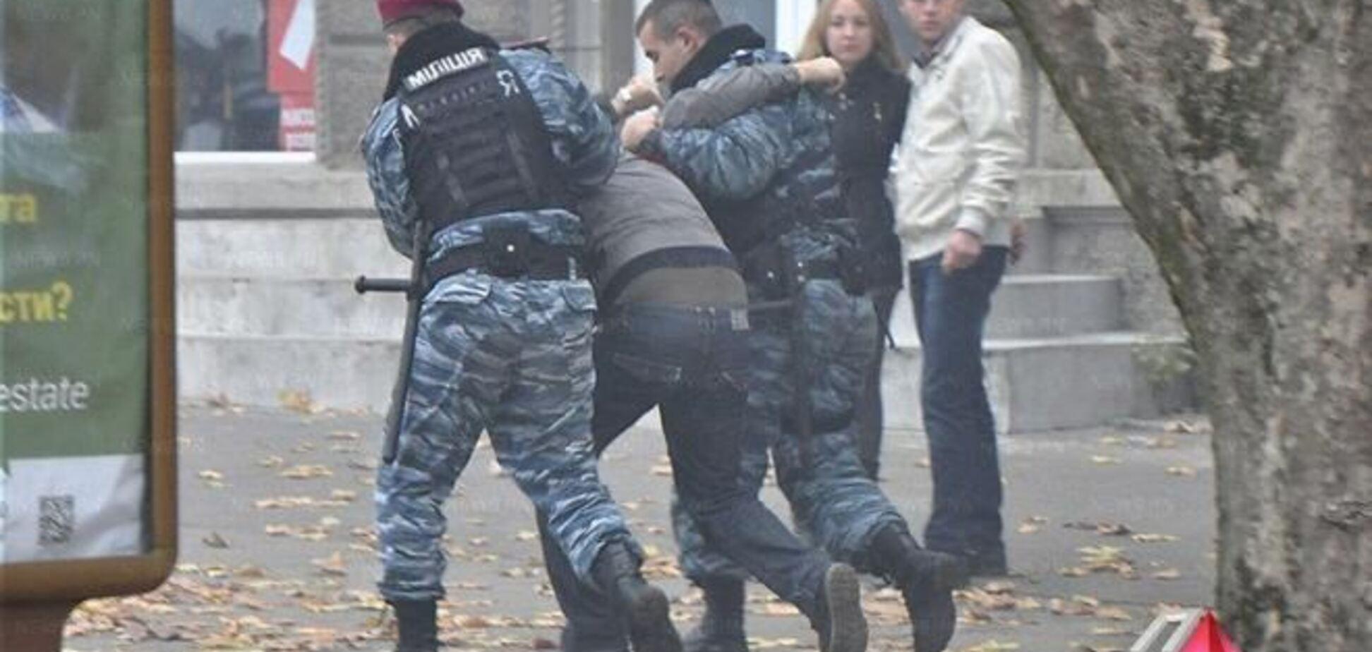 В Николаеве женщина написала заявление в милицию на 'свободовцев'