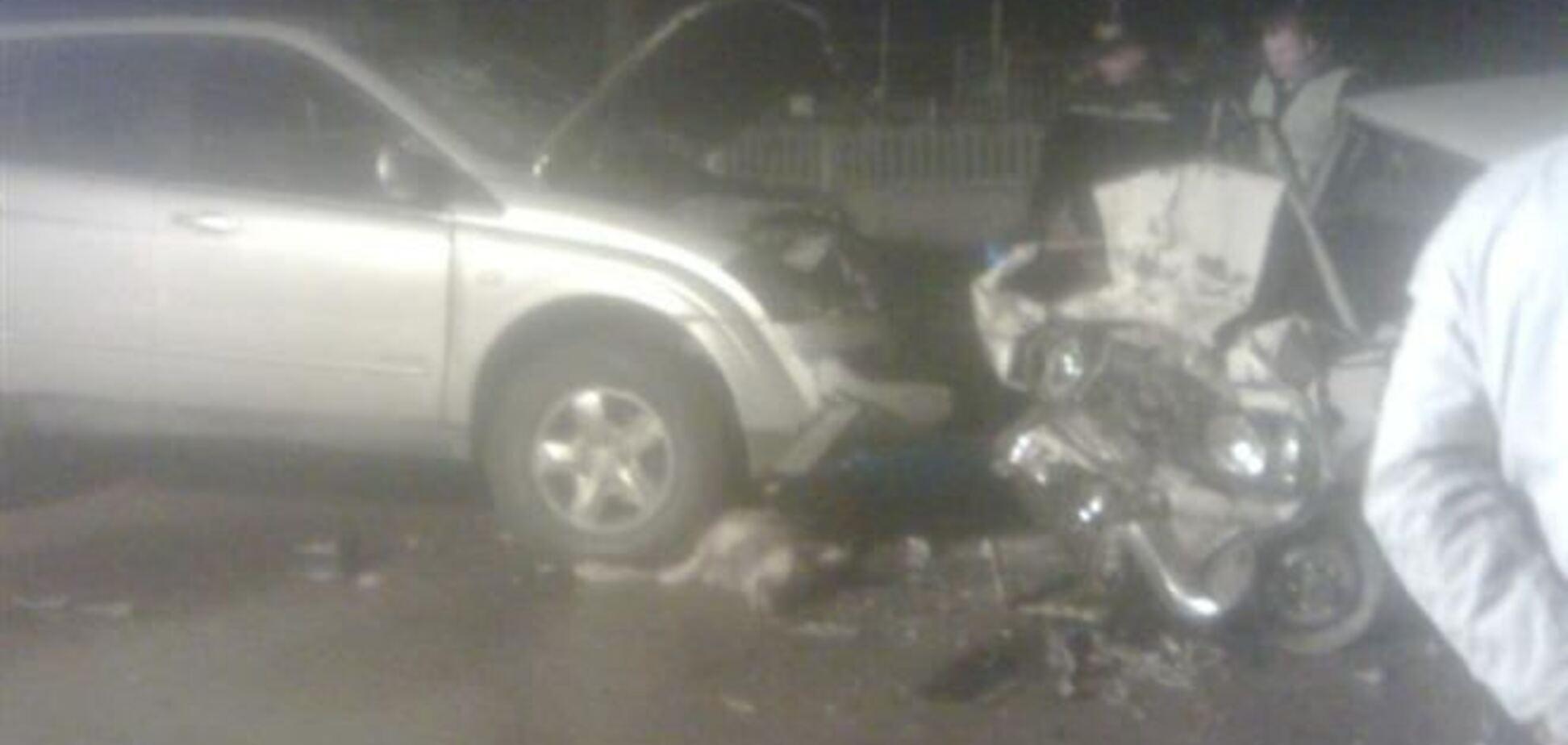 ДТП на Киевщине: погиб водитель, ребенок в реанимации