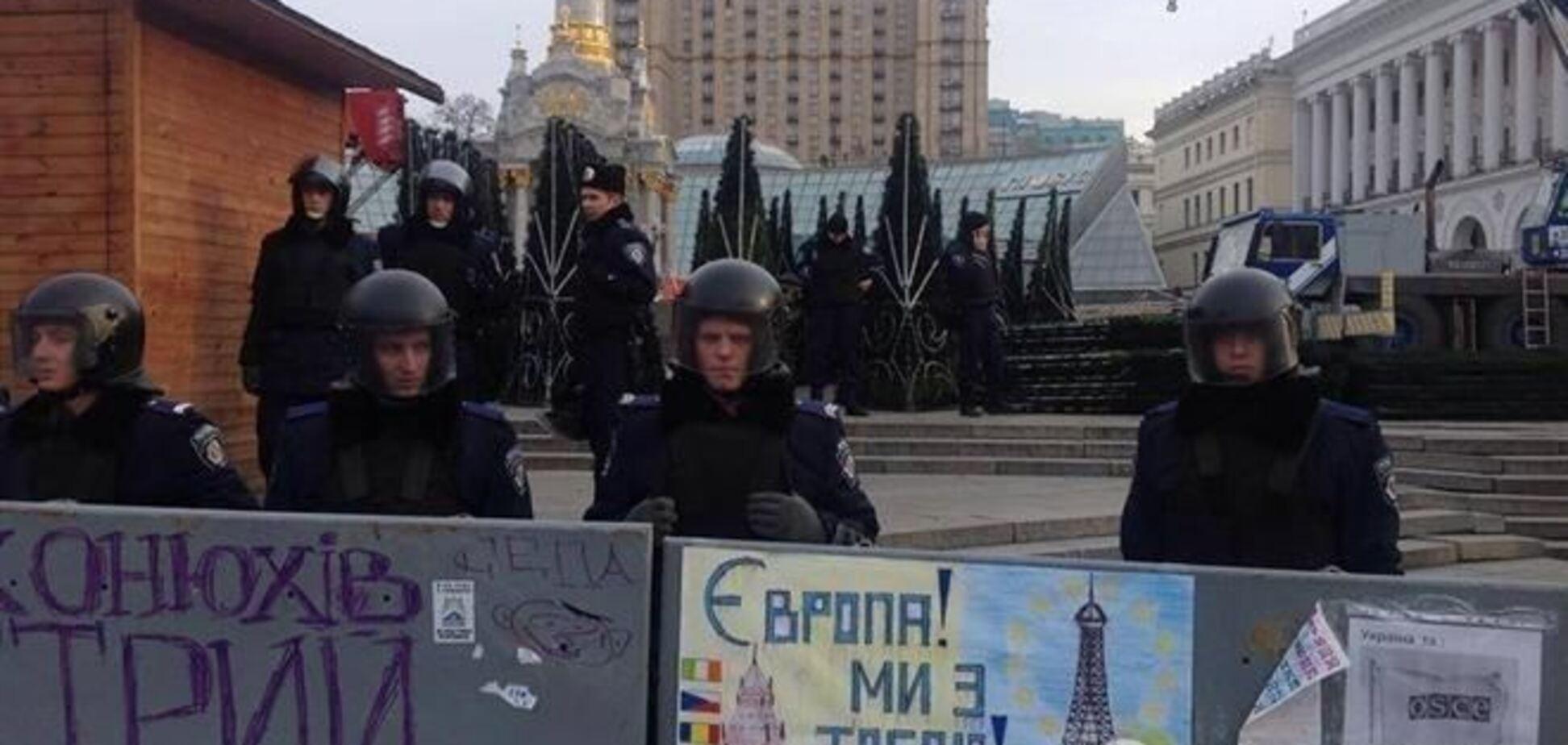 Прокуратура зайнялася розслідуванням дій 'Беркута' на Евромайдане