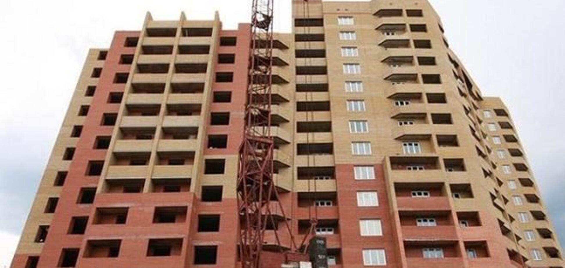 За 5 лет объемы строительства жилья в Киеве выросли вдвое