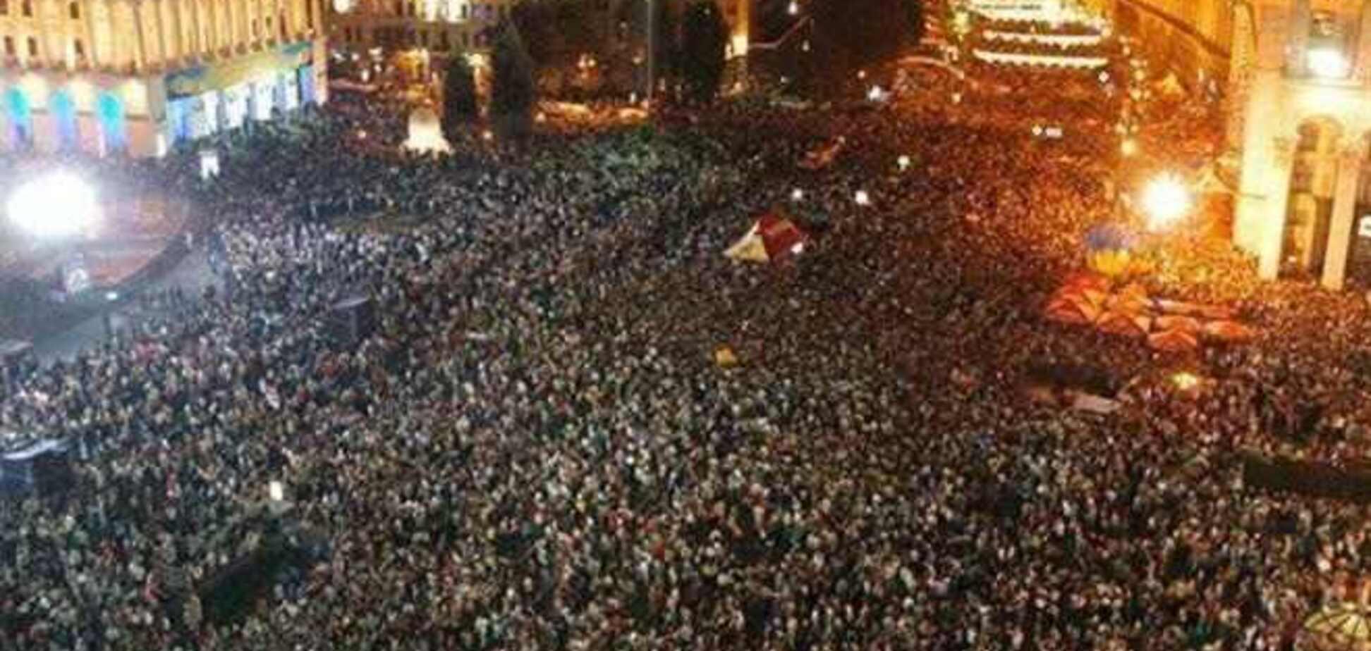 Протестующие забаррикадировали въезд на Институтскую